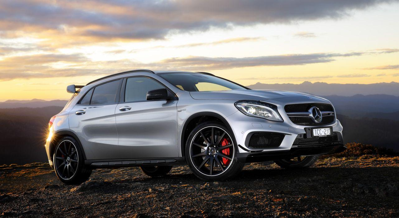 2014 Mercedes Benz GLA45 AMG 4MATIC AU-spec X156 gla wallpaper ...