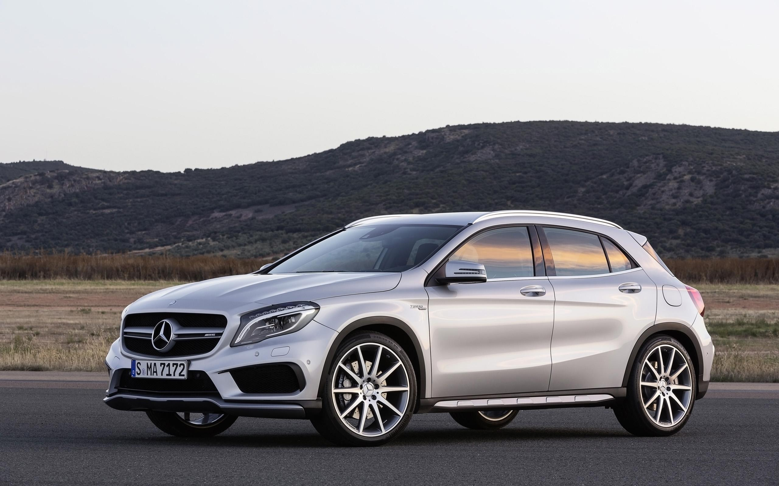 2014 Mercedes Benz GLA-45 AMG rf wallpaper | 2560x1600 | 221596 ...