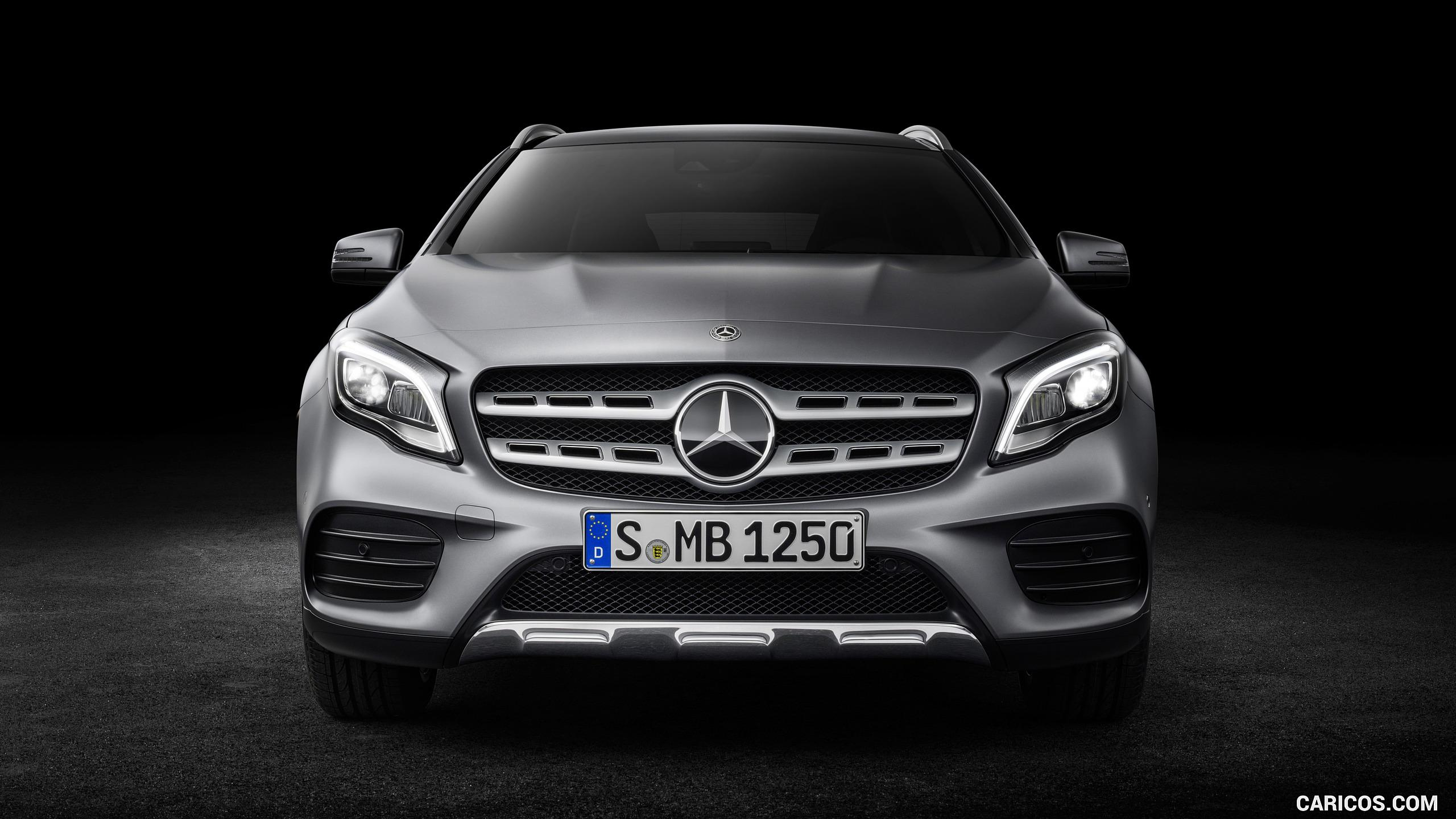2018 Mercedes-Benz GLA 250 4MATIC AMG Line - Front | HD Wallpaper #40
