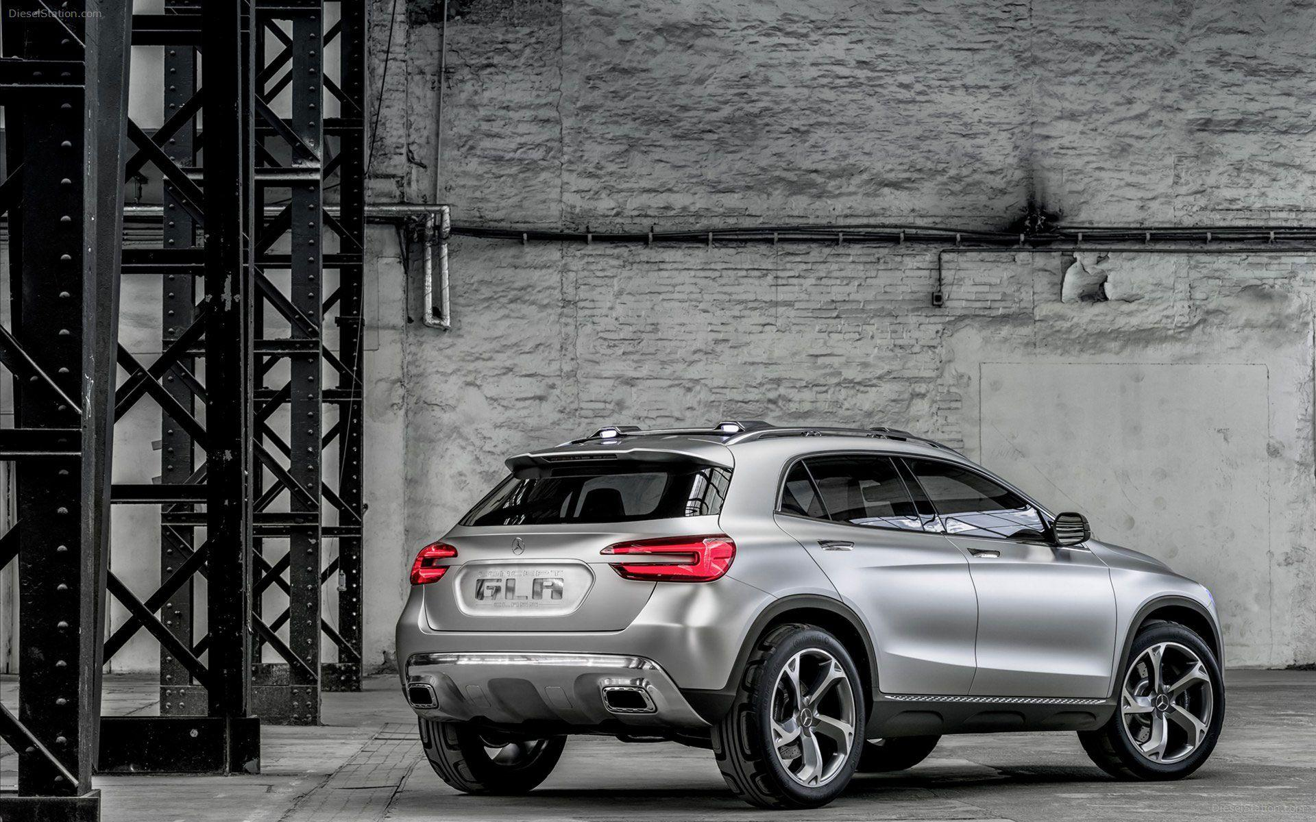 Silver Mercedes Benz GLA Concept HD Wallpapers in HD | Cars HD ...