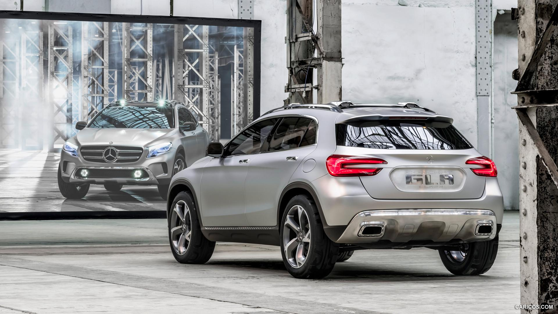 2013 Mercedes-Benz GLA Concept - Rear | HD Wallpaper #13