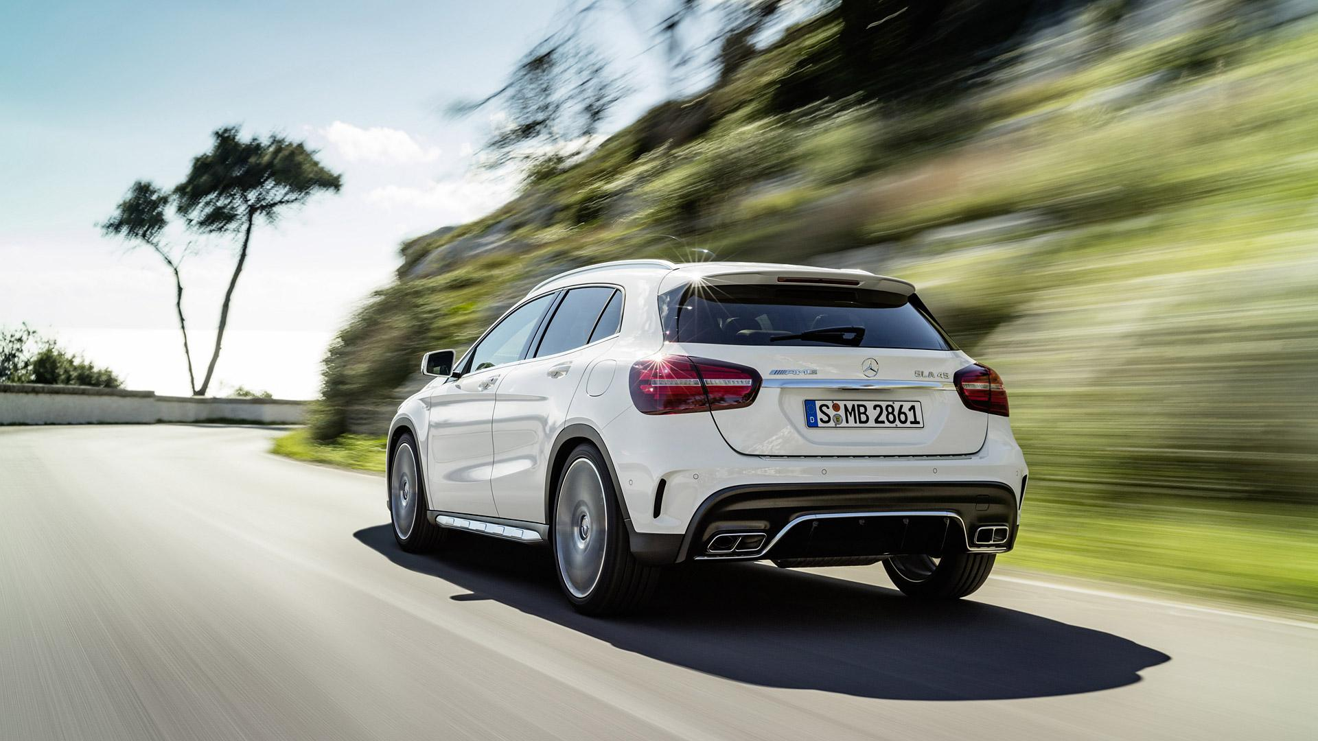 2018 Mercedes-Benz GLA45 AMG Wallpapers & HD Images - WSupercars