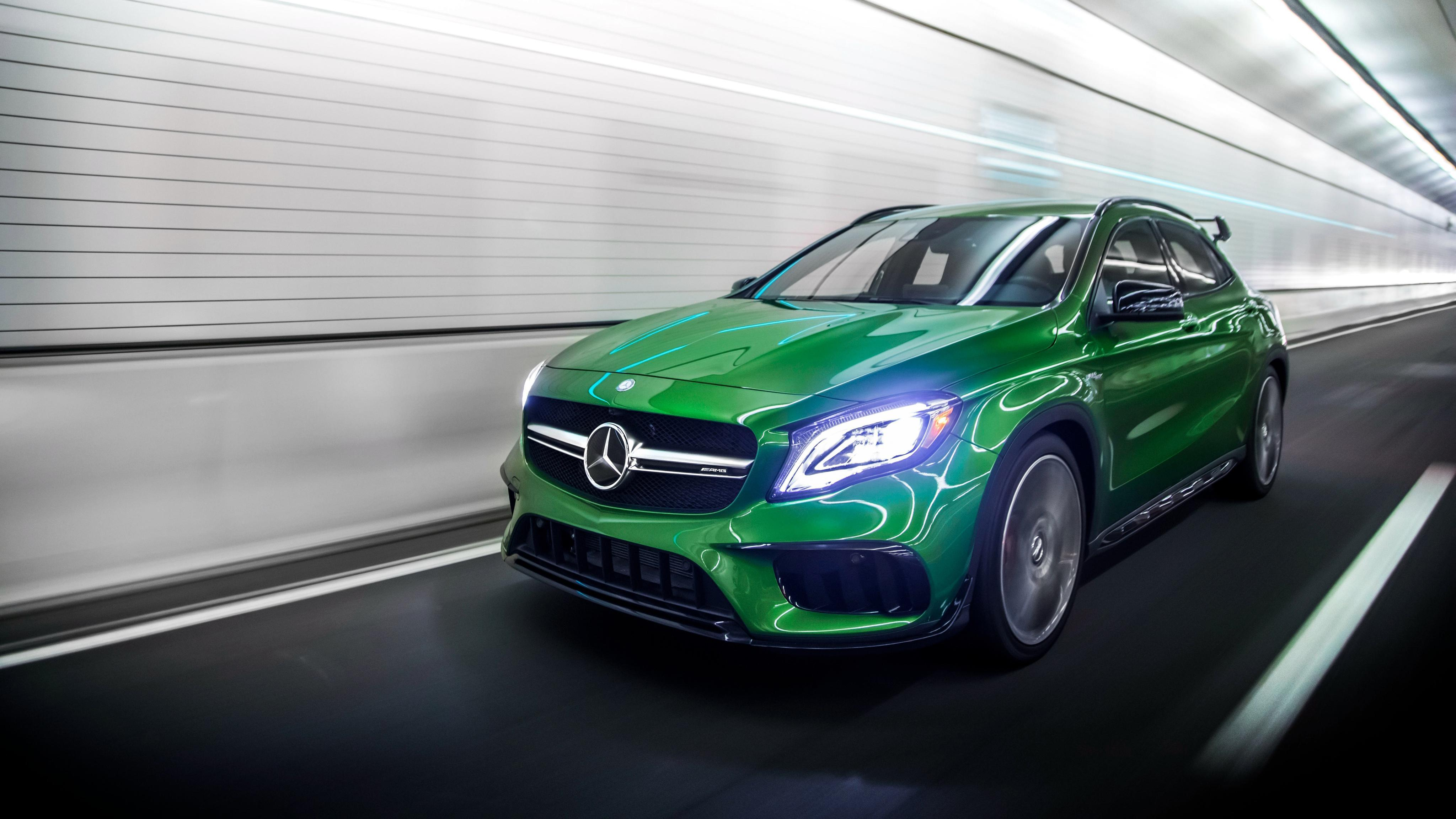 2018 Mercedes AMG GLA 45 4MATIC 4K 2 Wallpapers