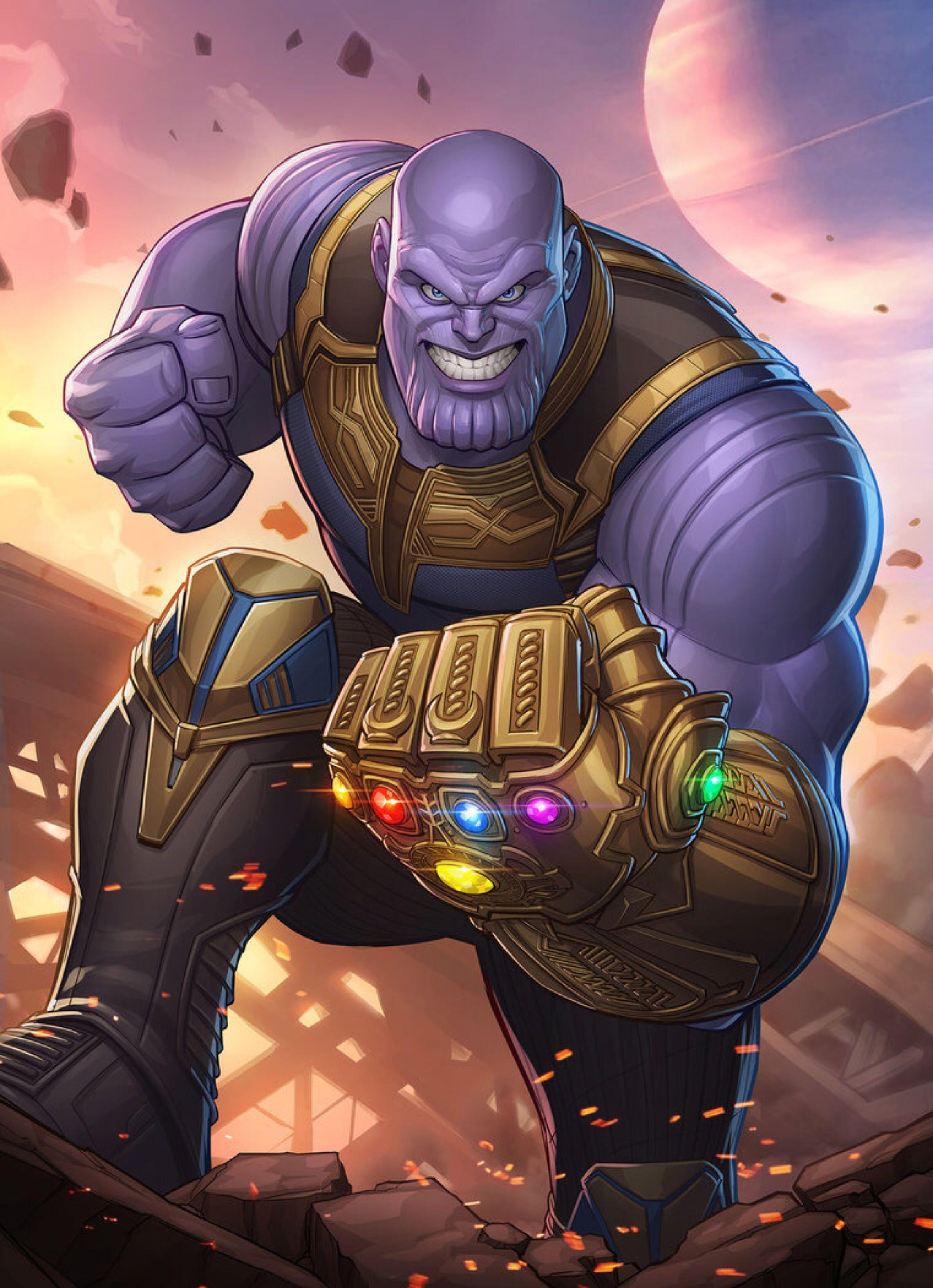 Thanos Endgame Wallpapers Wallpaper Cave