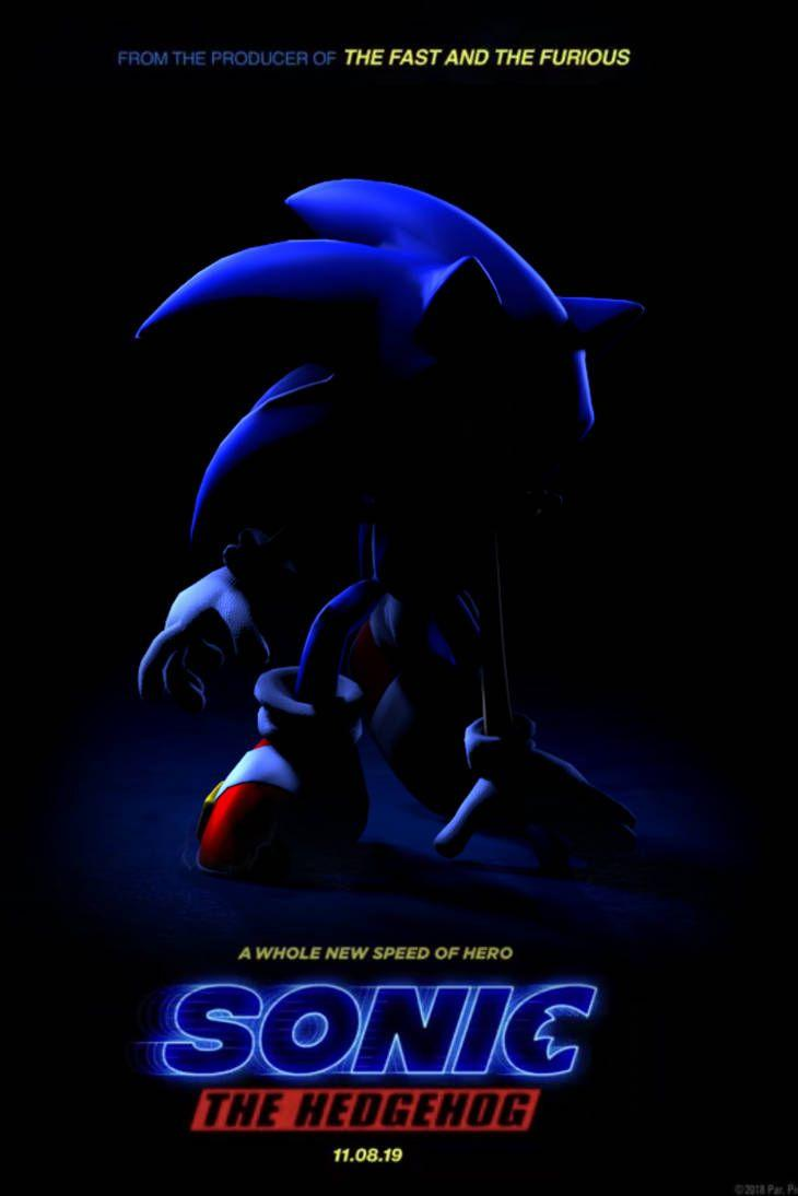live action sonic the hedgehog movie 2019