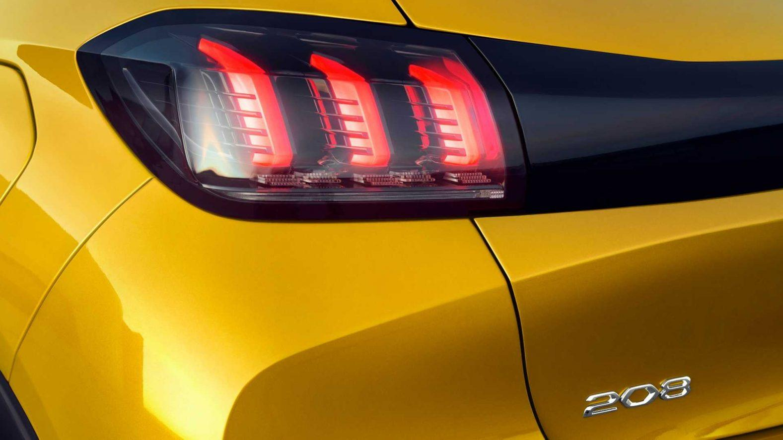 Best 2020 Peugeot 208 Tail Light High Resolution Wallpapers