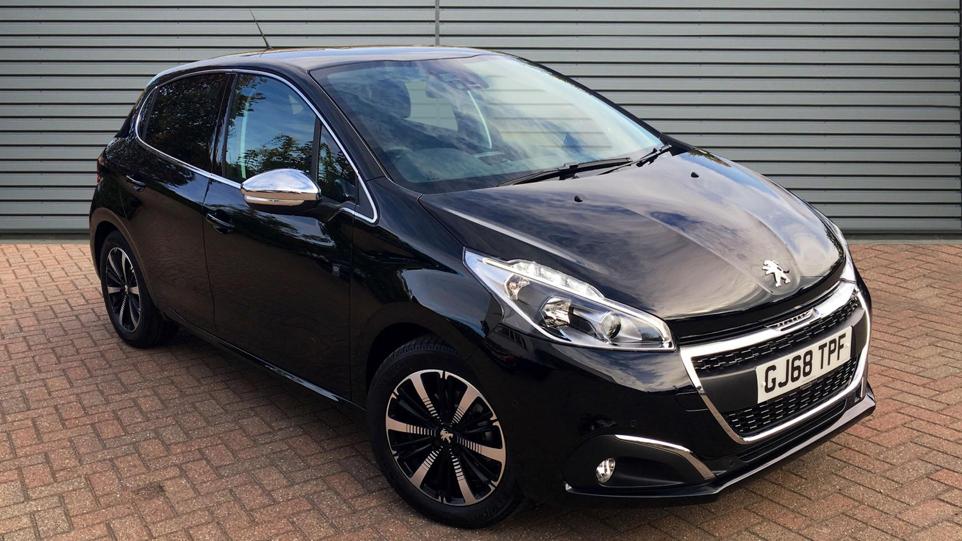 Used Peugeot 208 Tech Edition Black Cars for Sale