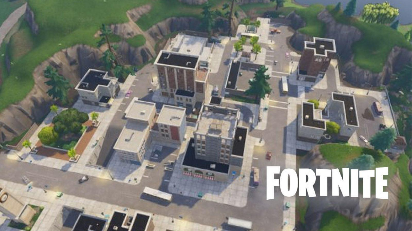A new building may be arriving to Fortnite's Tilted Towers | Dexerto.com