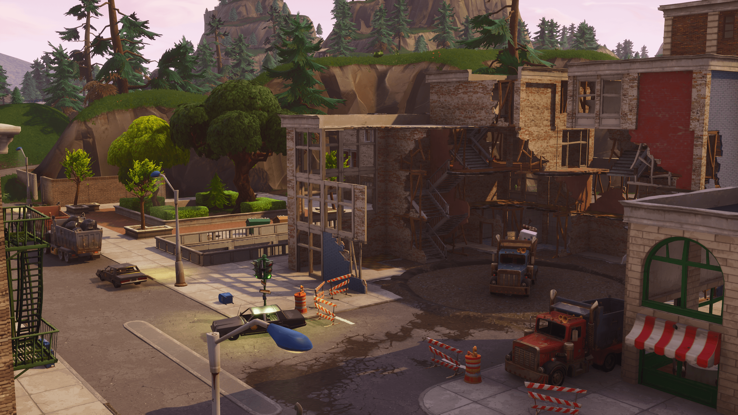 Changes to the map with v4.2.0 – Tilted Towers, Dusty Divot and more ...