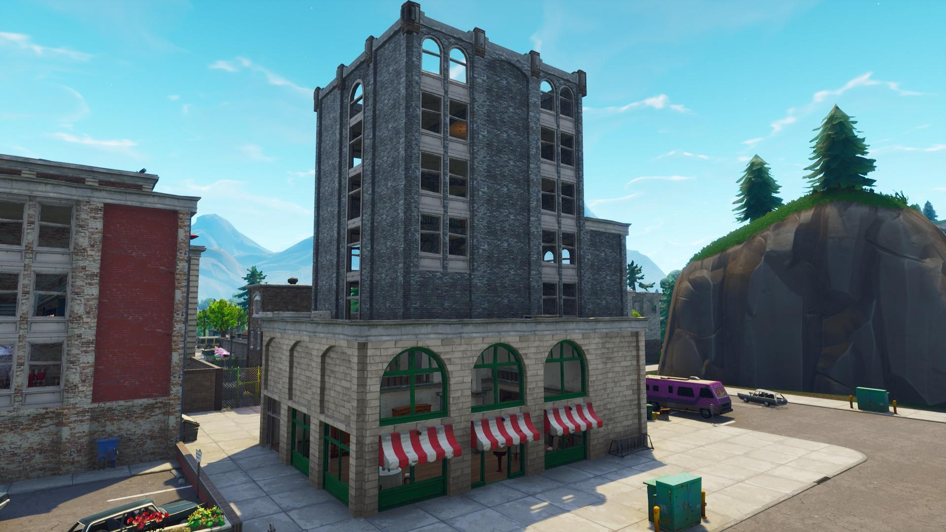 Tilted Towers | Fortnite Battle Royale map Wiki | FANDOM powered by ...
