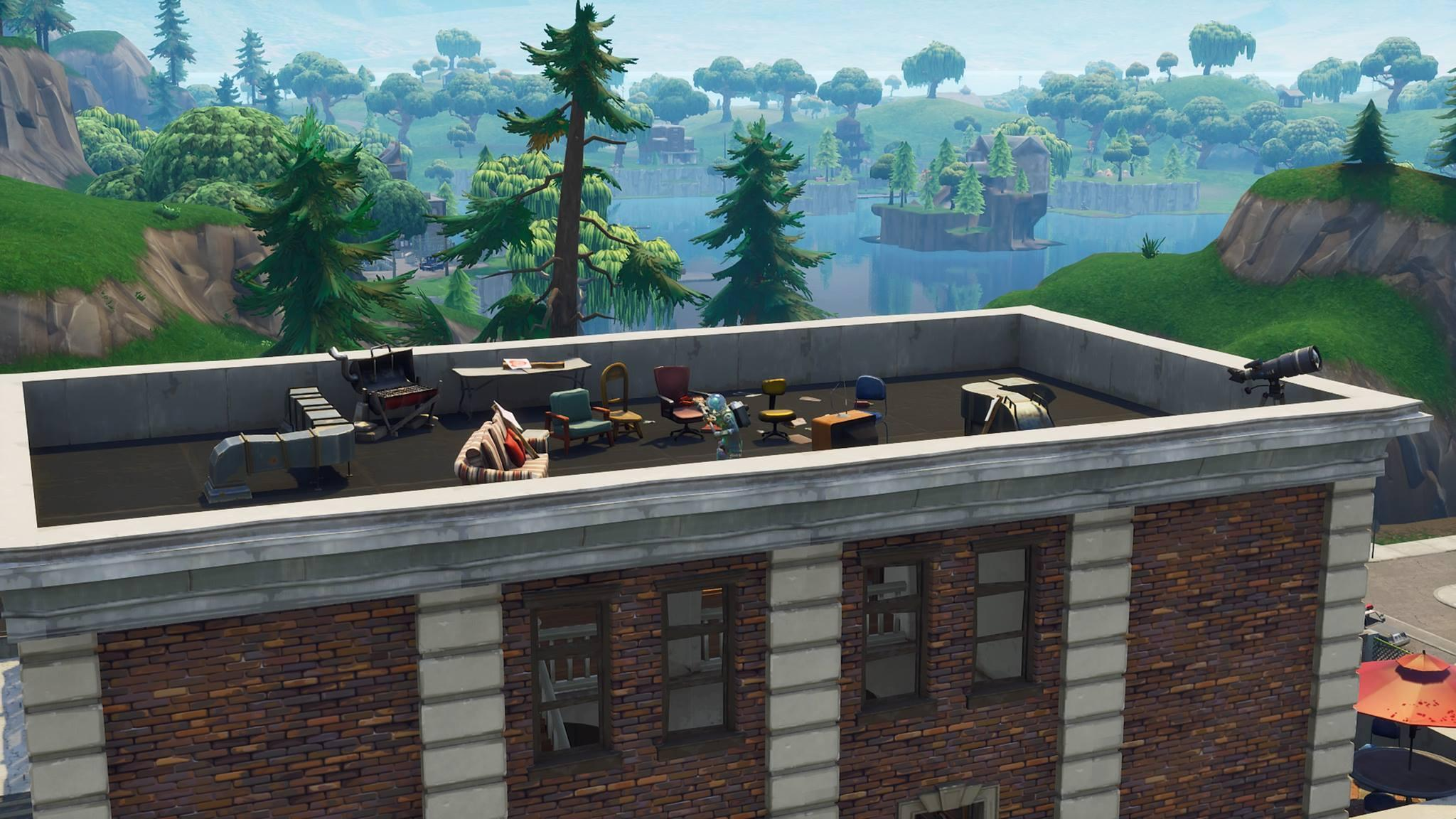 New 'Fortnite' Tilted Towers Area May Hint At The Comet's Imminent ...