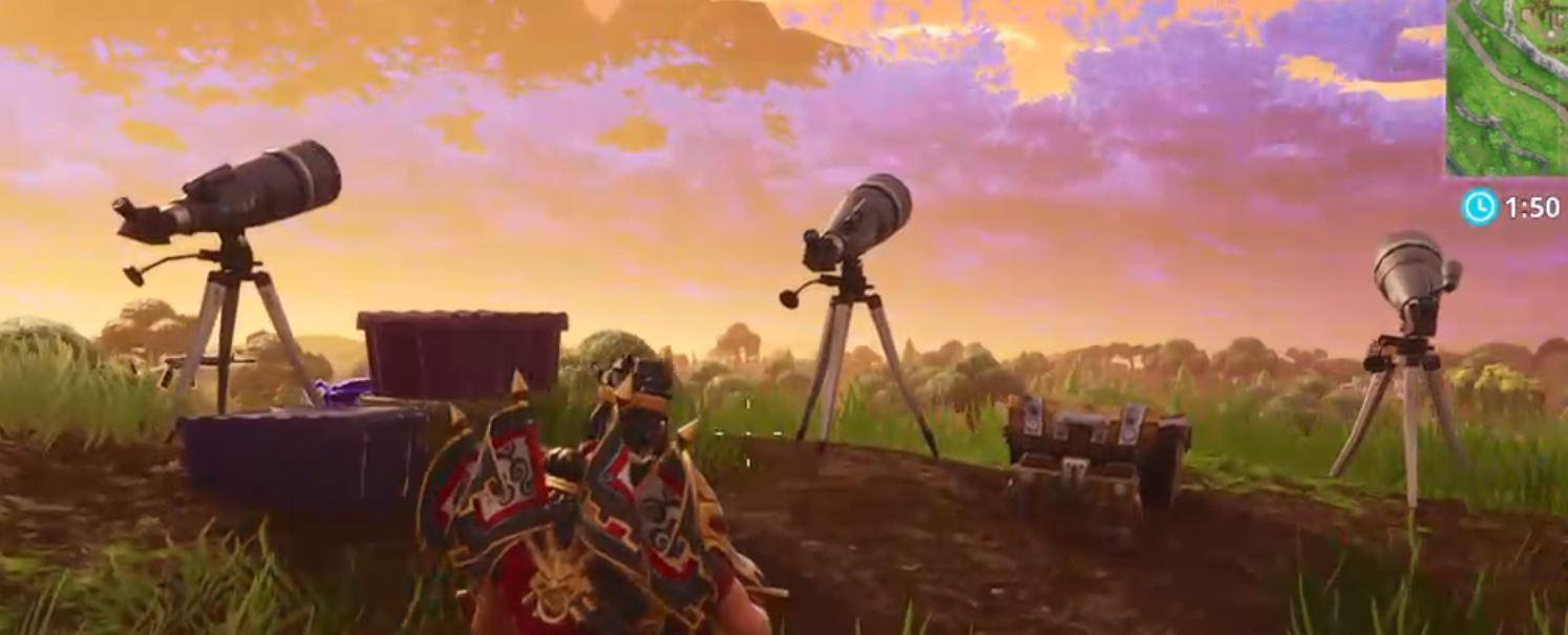 Comet found in Fortnite Battle Royale - Could mean the end of Tilted ...