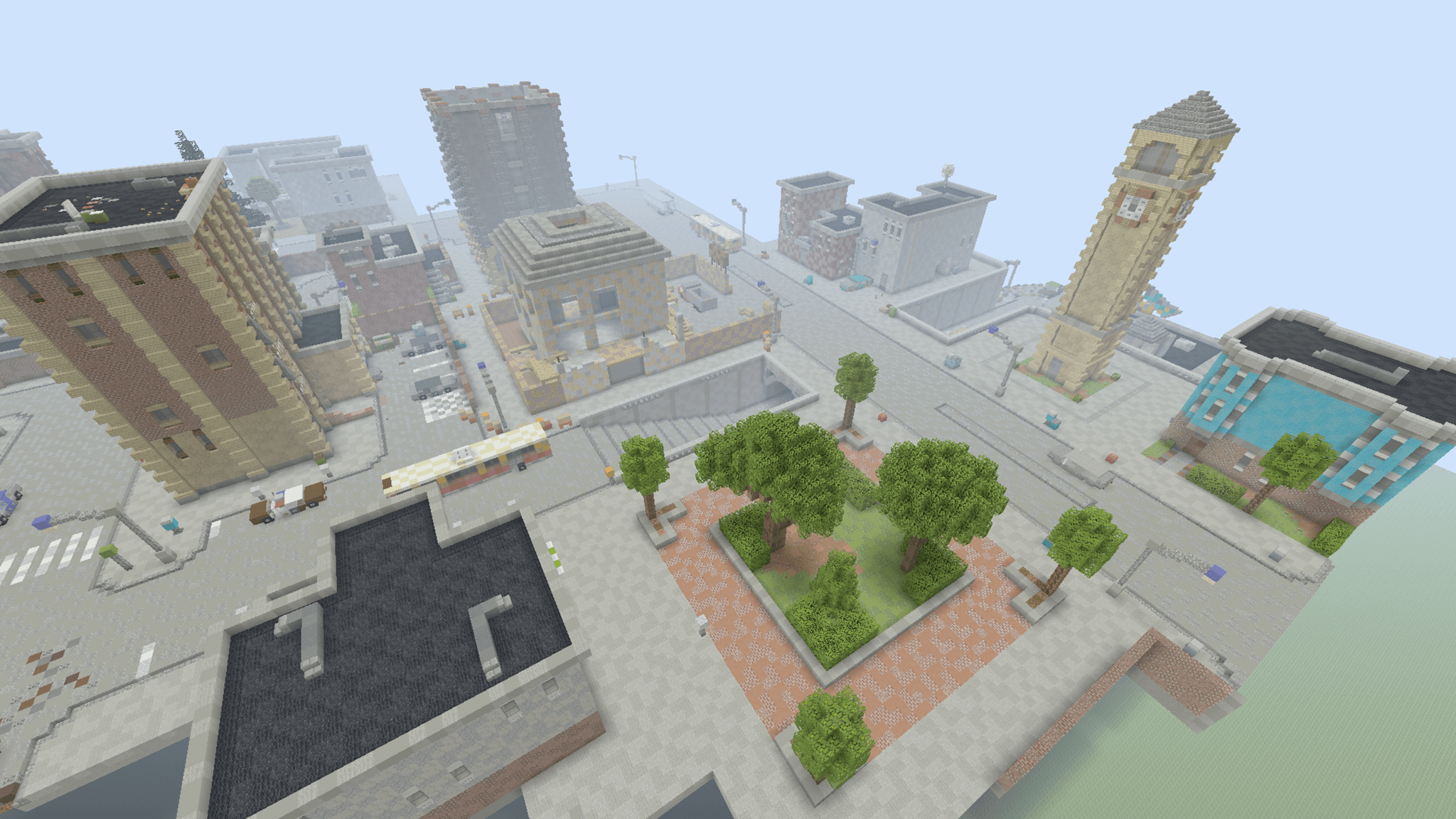 Tilted Towers in Minecraft - Album on Imgur