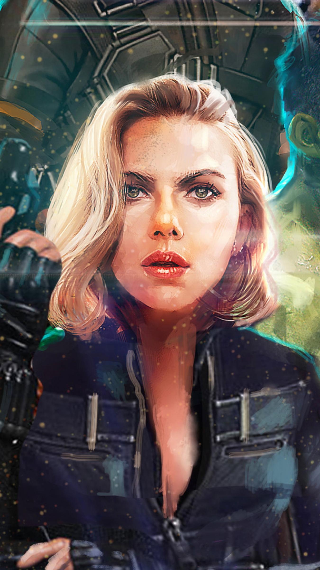 Black Widow Infinity War Wallpapers Wallpaper Cave