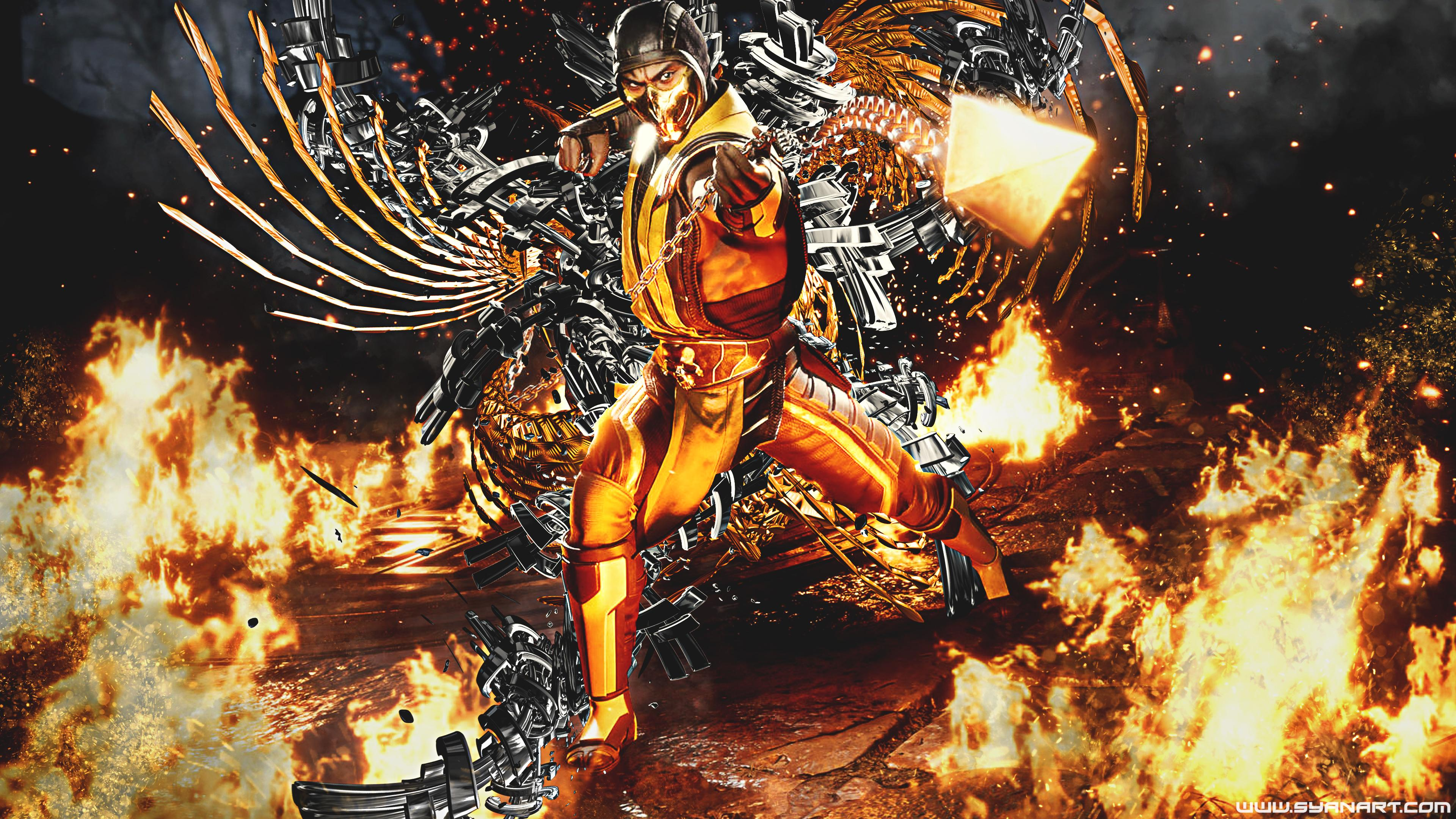 Scorpion Mk11 Wallpapers Wallpaper Cave