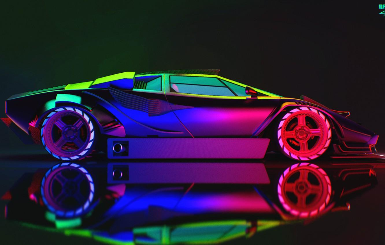 Neon Lamborghini Wallpapers , Wallpaper Cave