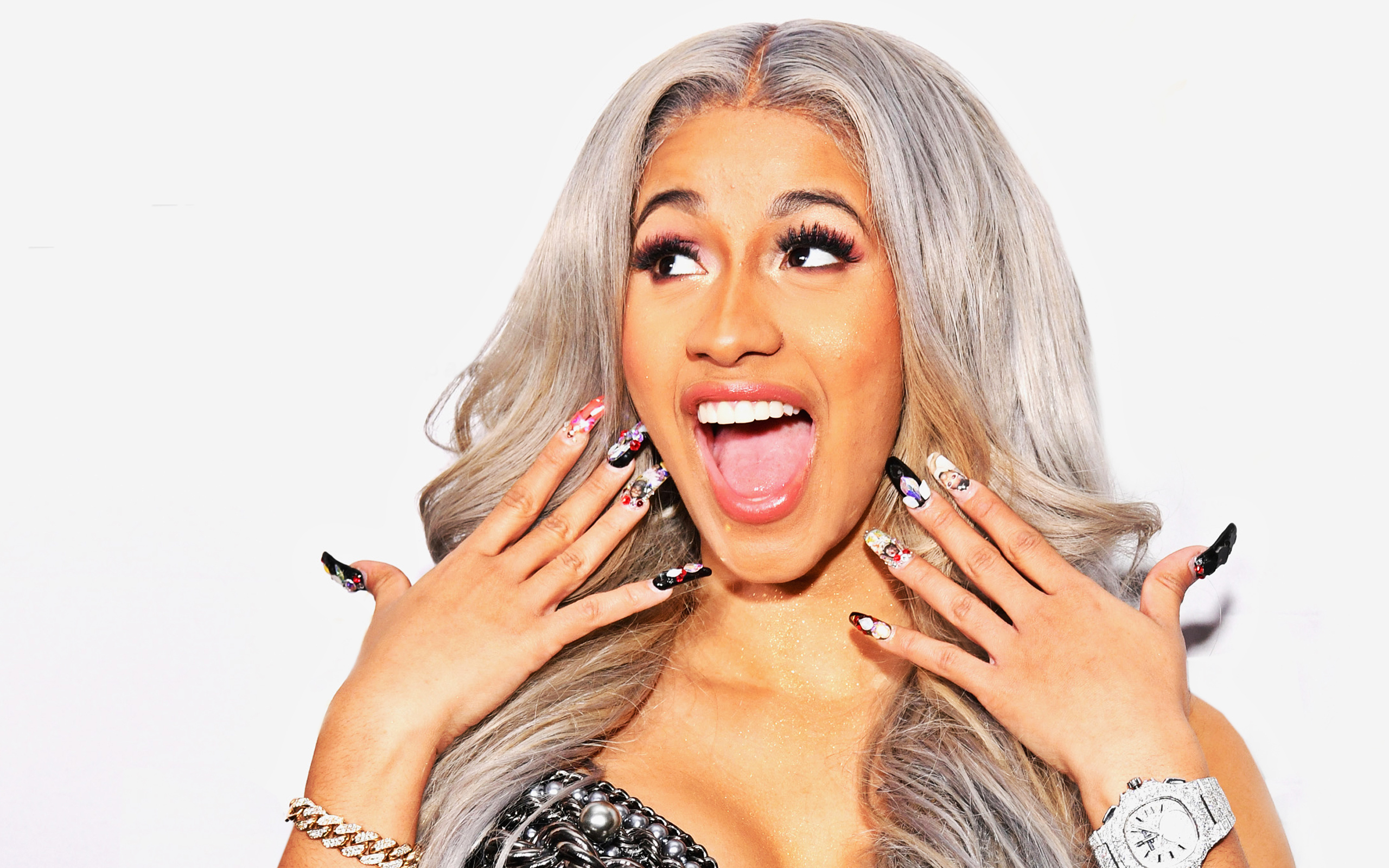 Cardi B Cartoon Wallpapers Wallpaper Cave