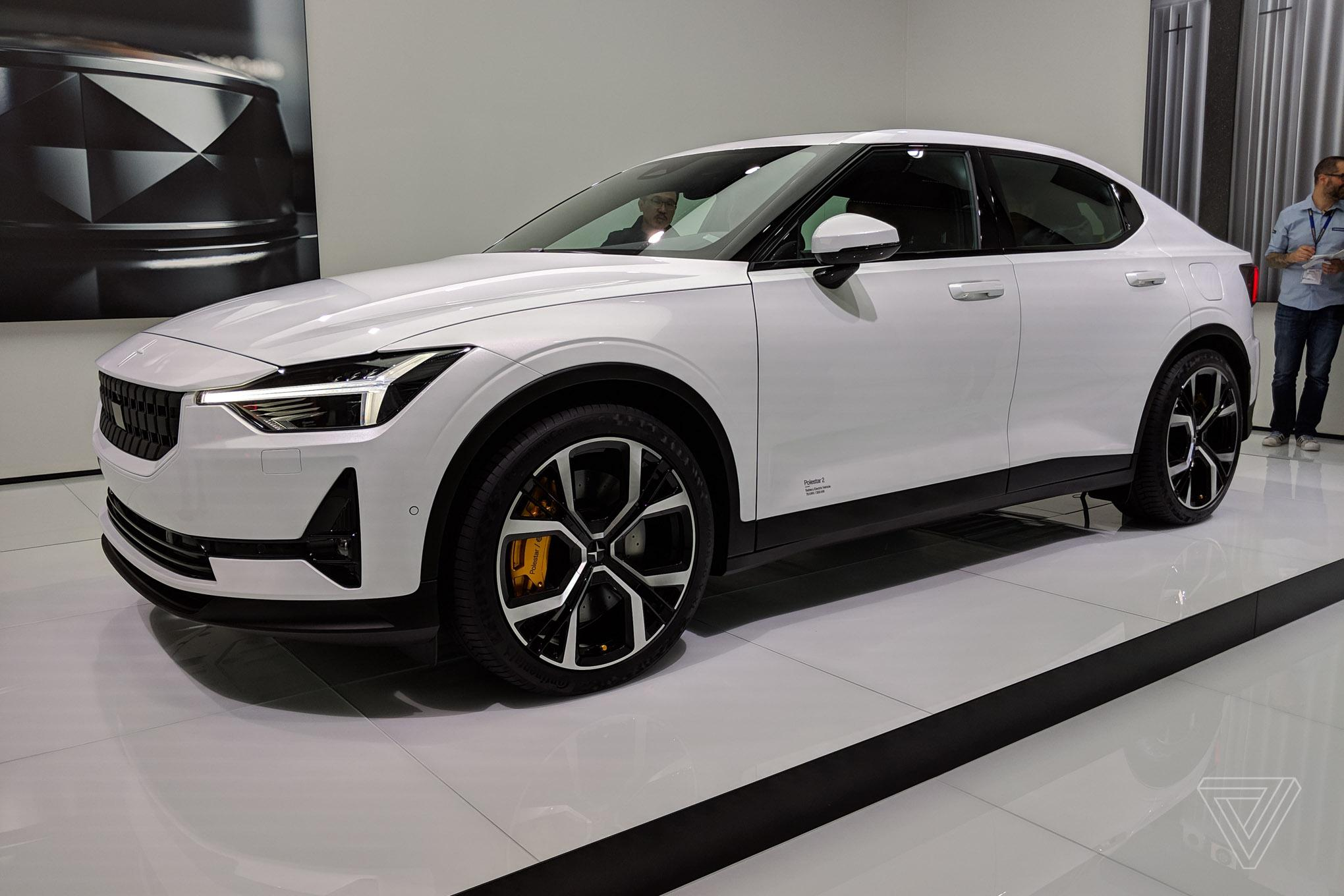 The Polestar 2's secret weapon against Tesla's Model 3 is Android ...