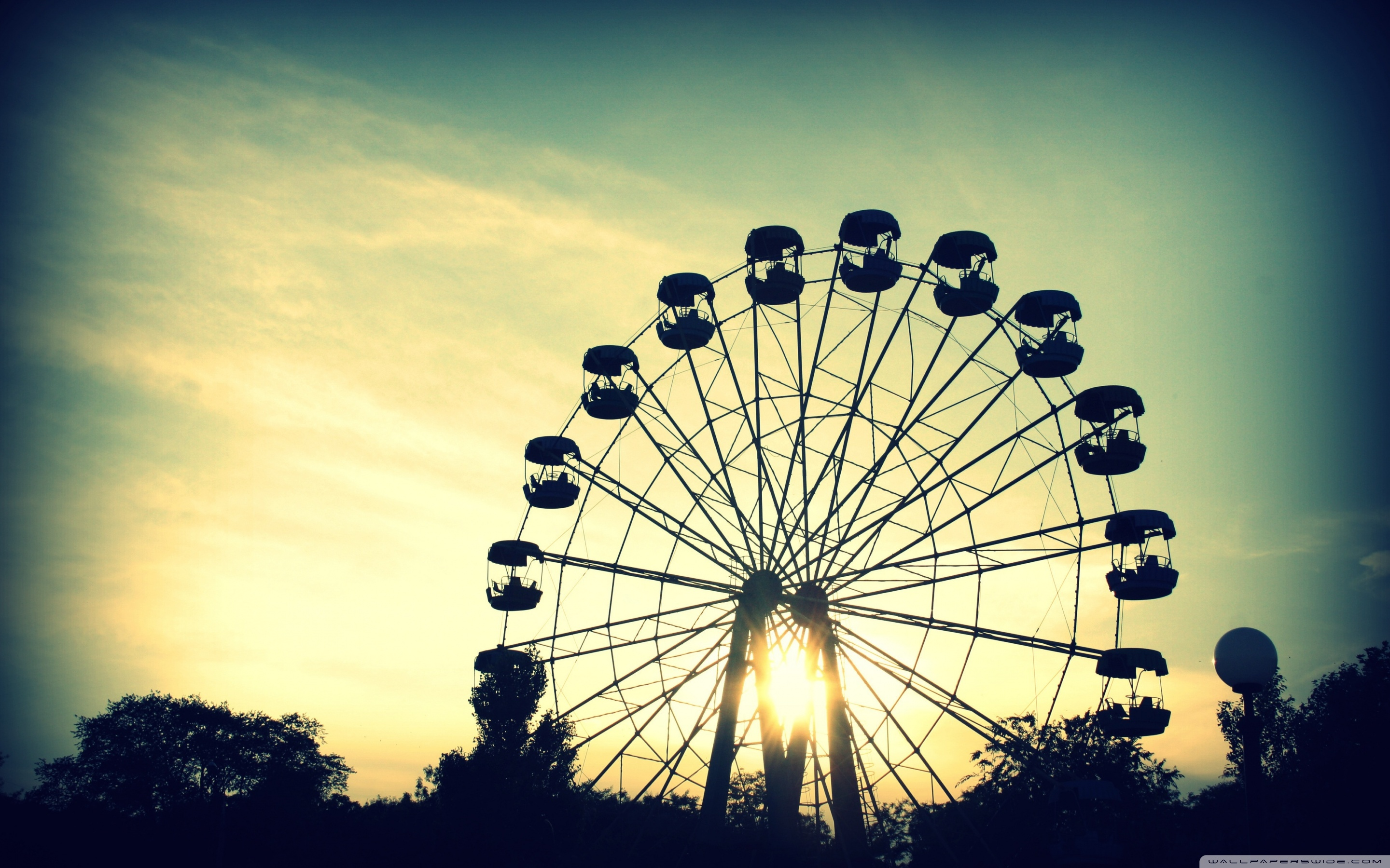 Ferris Wheel Wallpapers and Backgrounds Image