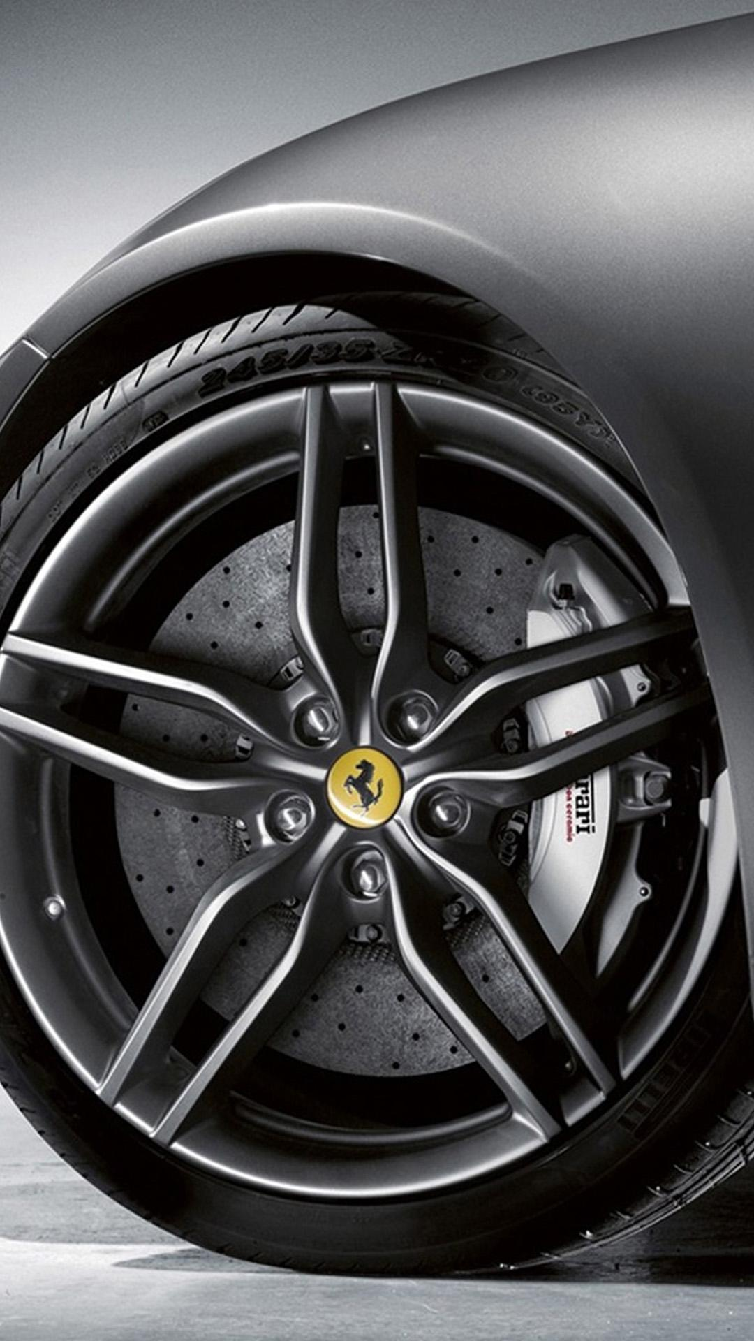 Ferrari Wheel Wallpapers for Galaxy S5