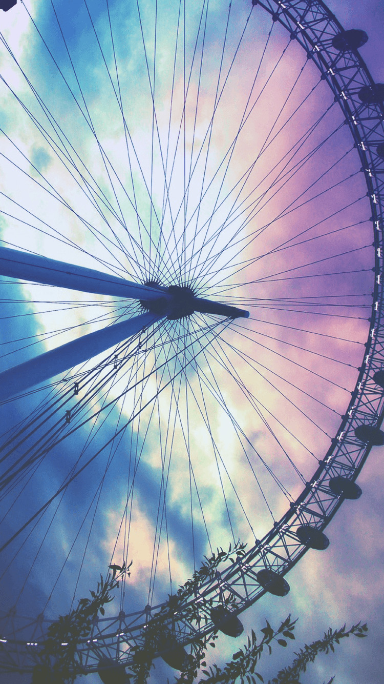 Hipster Ferris Wheel Wallpapers