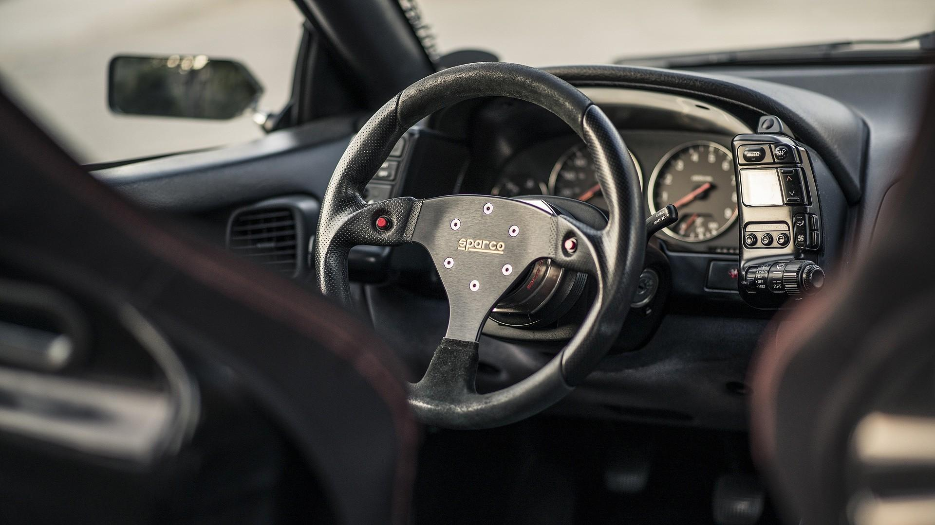 cars, Nissan 300Zx, steering wheel :: Wallpapers