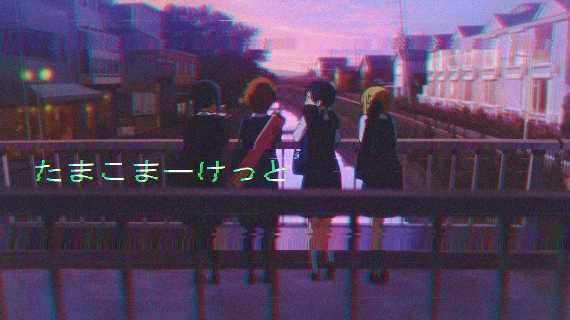 Vaporwave Anime Wallpapers - Wallpaper Cave