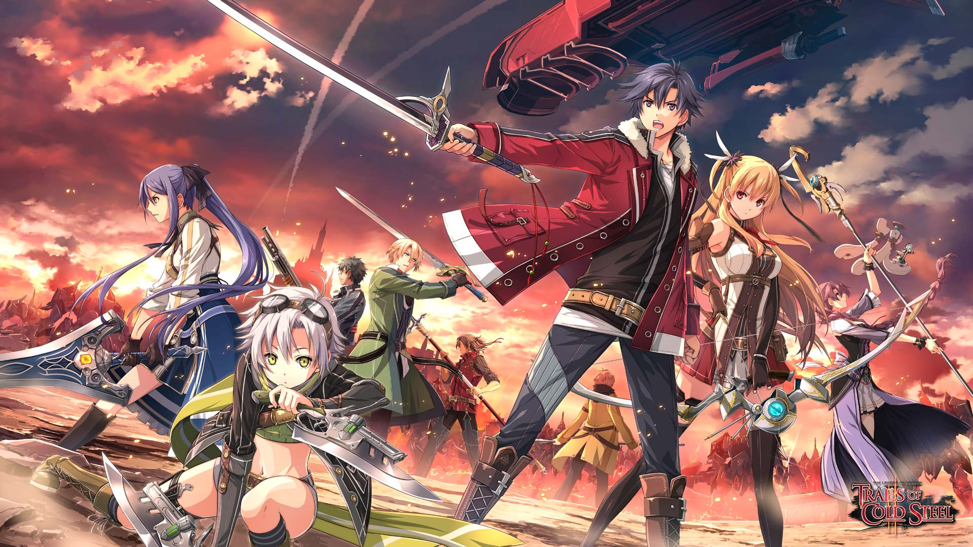 The Legend Of Heroes Trails Of Cold Steel Ii Wallpapers