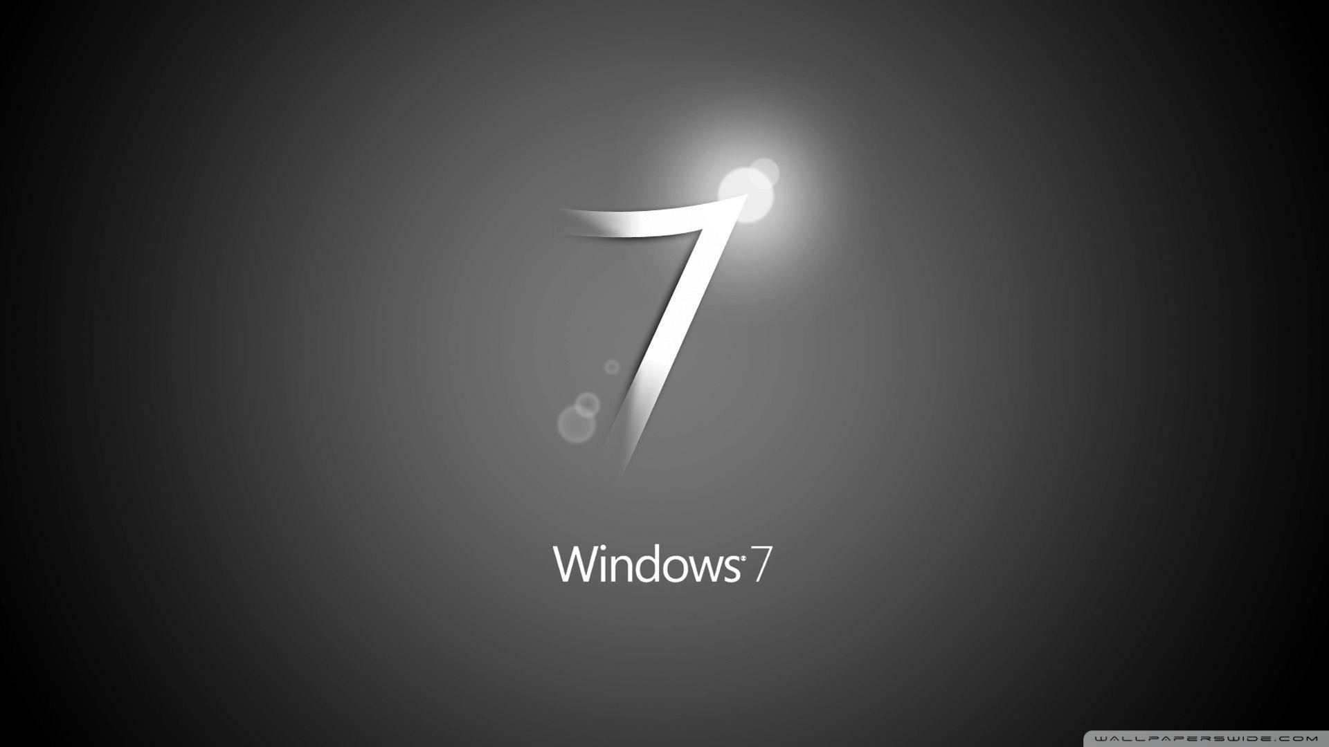 Windows 7 Black Hd Wallpaper Wallpaper Cave