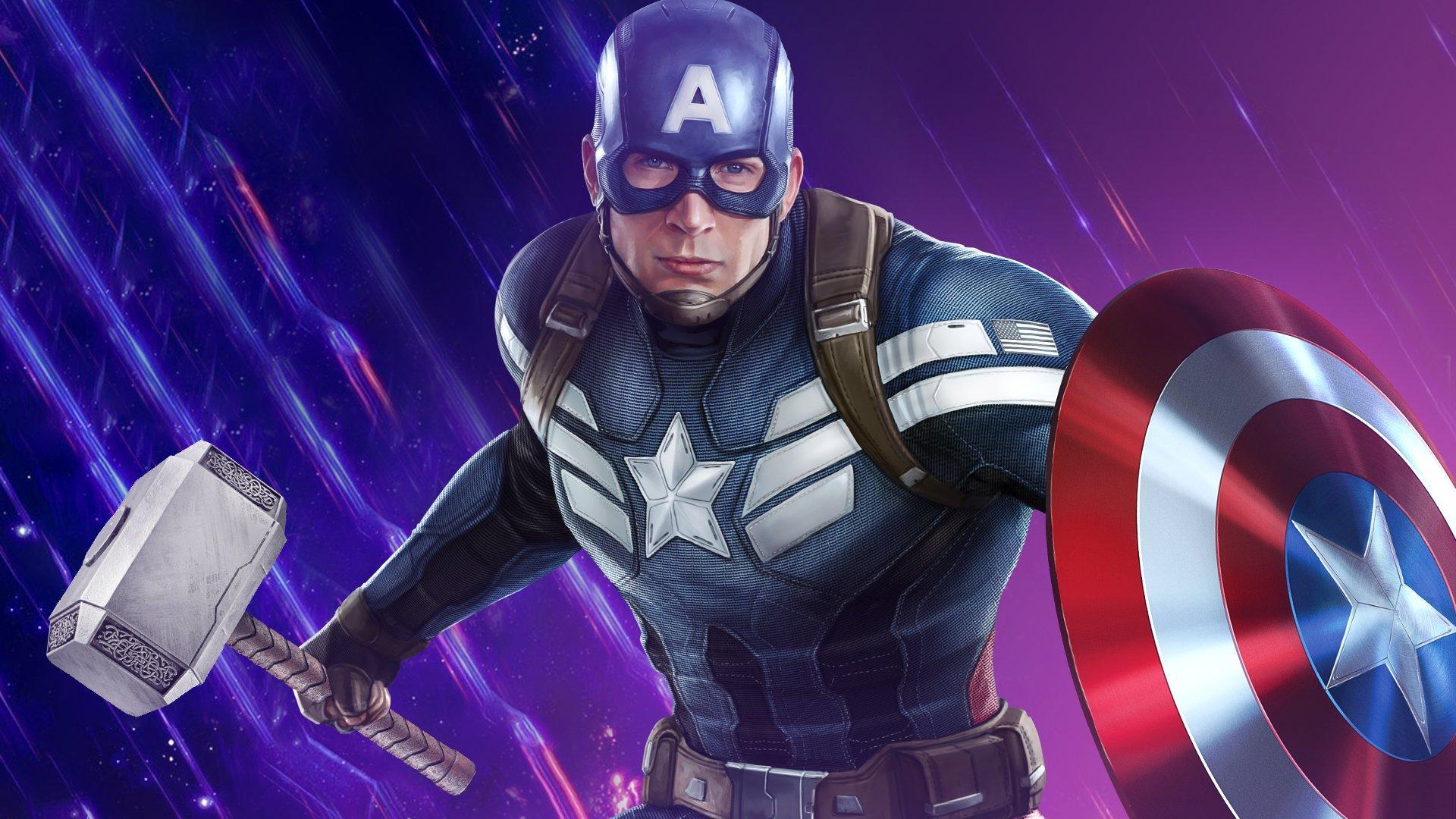 Captain America Hammer