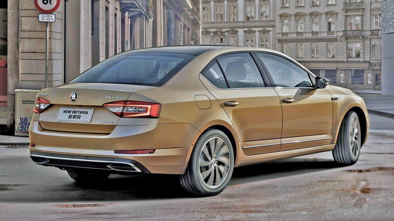 2019 Skoda Superb Tail Light Wallpapers