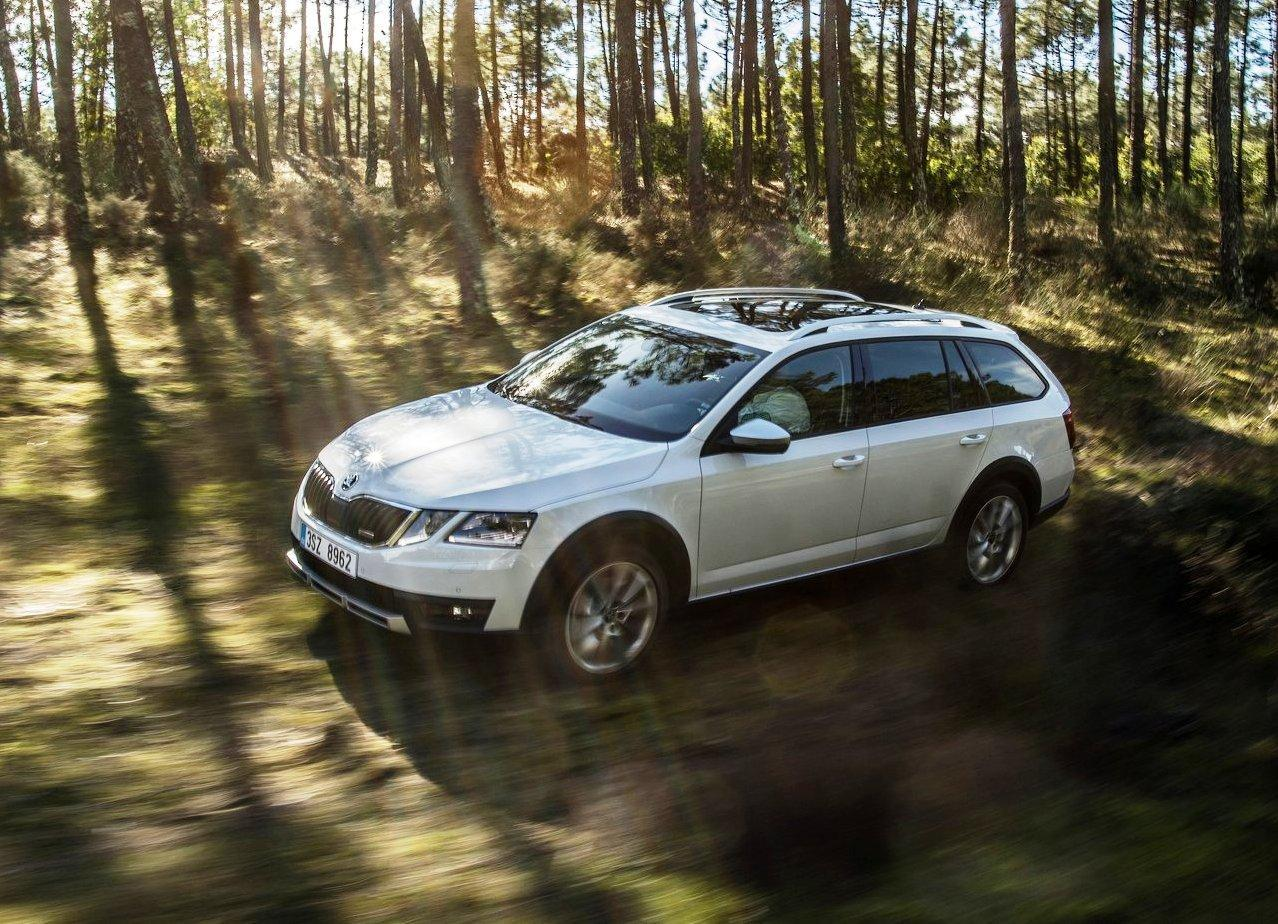 2018 Skoda Octavia Scout Wallpapers Pictures
