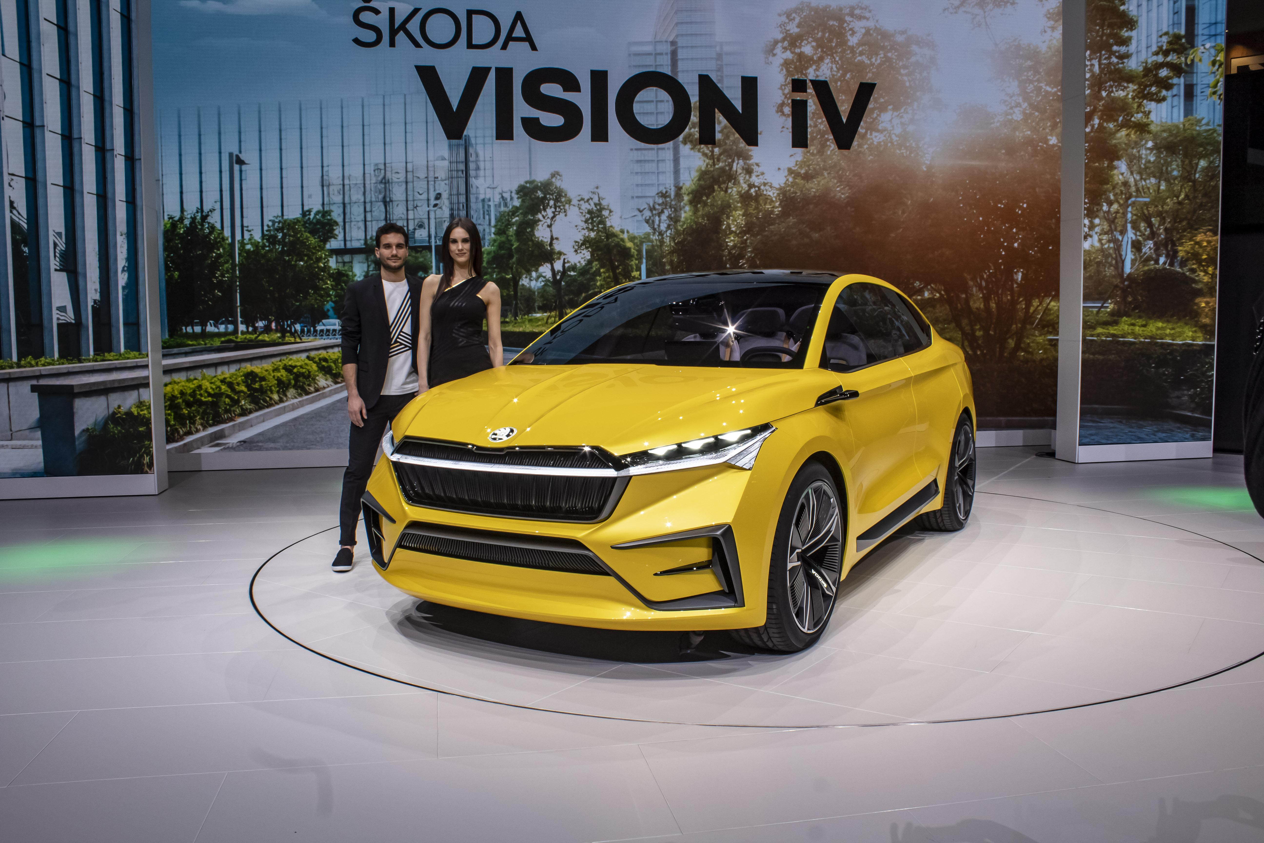 2019 Skoda Vision IV Concept Pictures, Photos, Wallpapers.