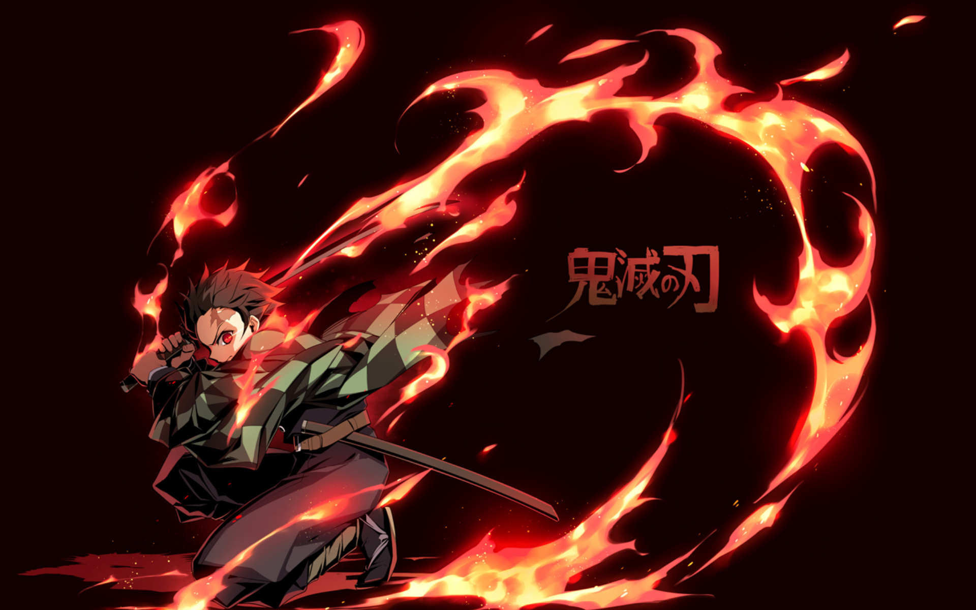 Wallpapers Tanjirou Kamado, Demon Slayer Kimetsu no Yaiba picture