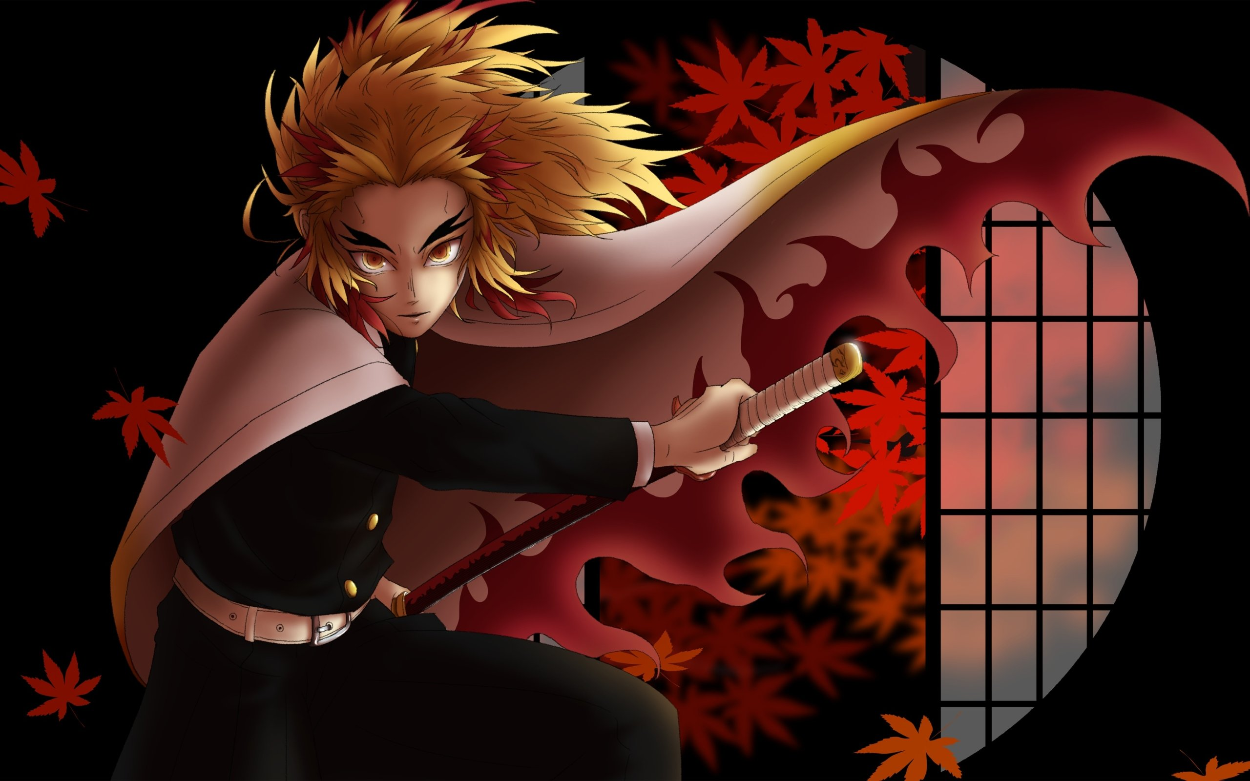 Wallpapers Rengoku Kyoujurou, Demon Slayer Kimetsu no Yaiba picture