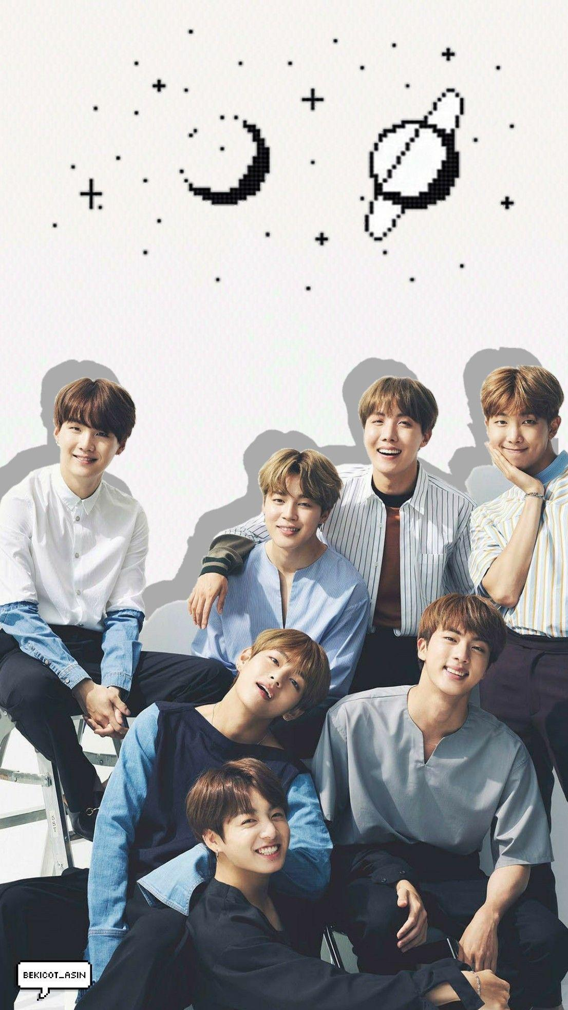 Bts Group Wallpapers Wallpaper Cave