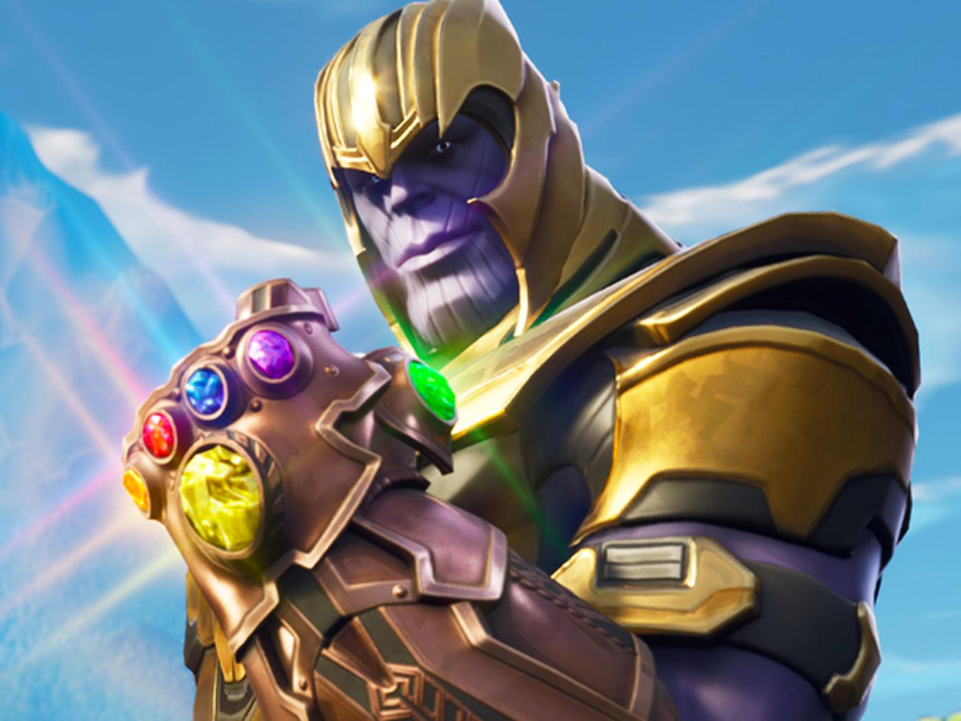 1400x1050px Fortnite Thanos Wallpapers