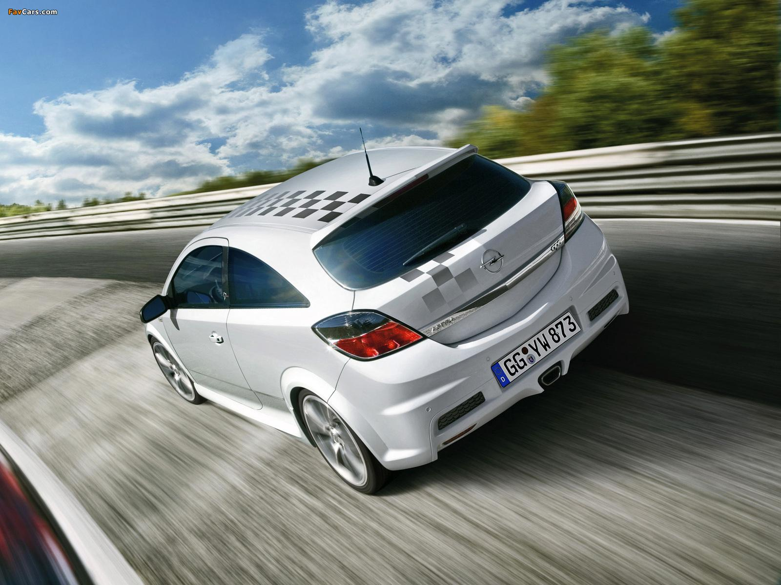 Opel Astra OPC Nürburgring Edition (H) 2008 wallpapers (1600x1200)