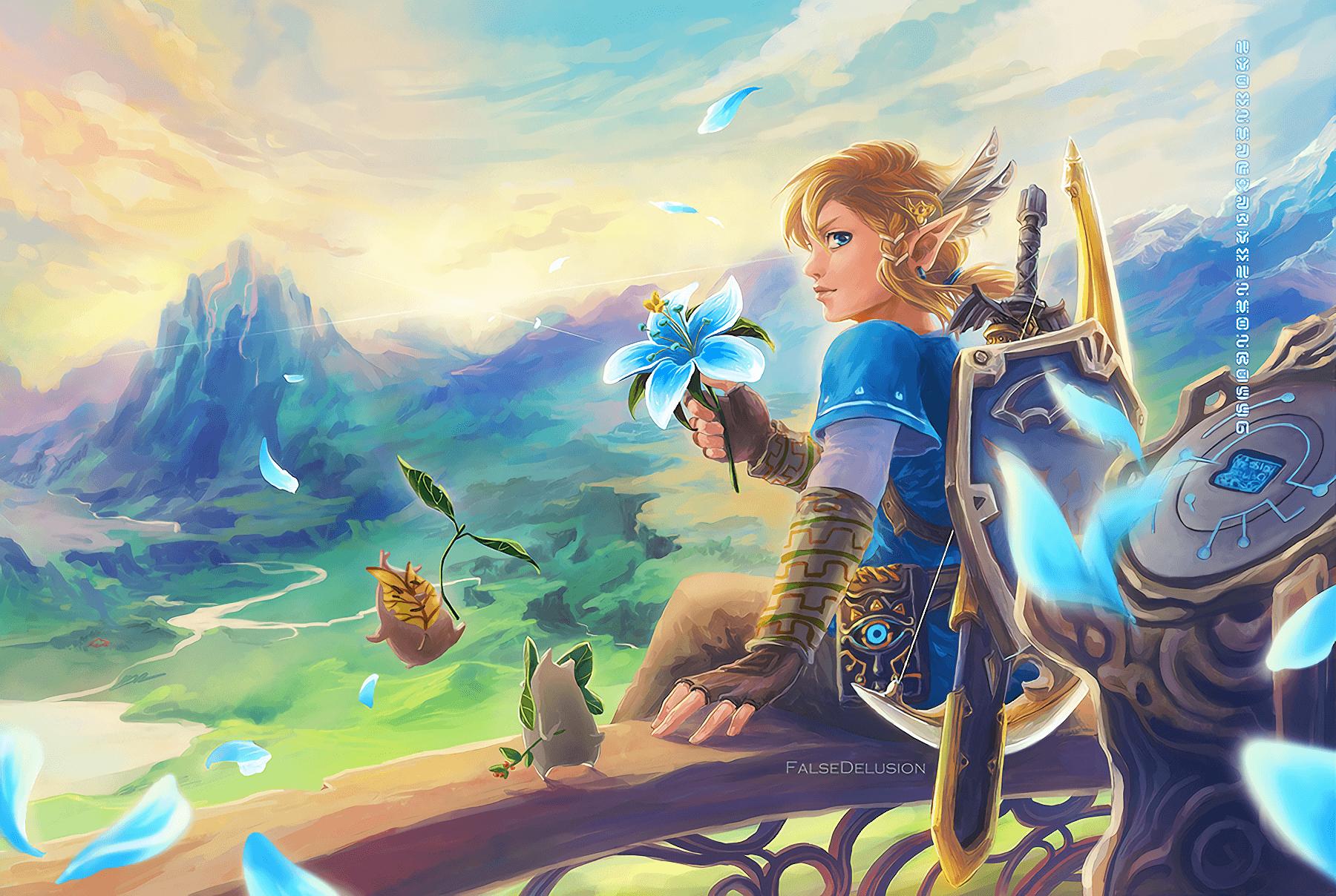 The Legend Of Zelda Botw Wallpapers Wallpaper Cave