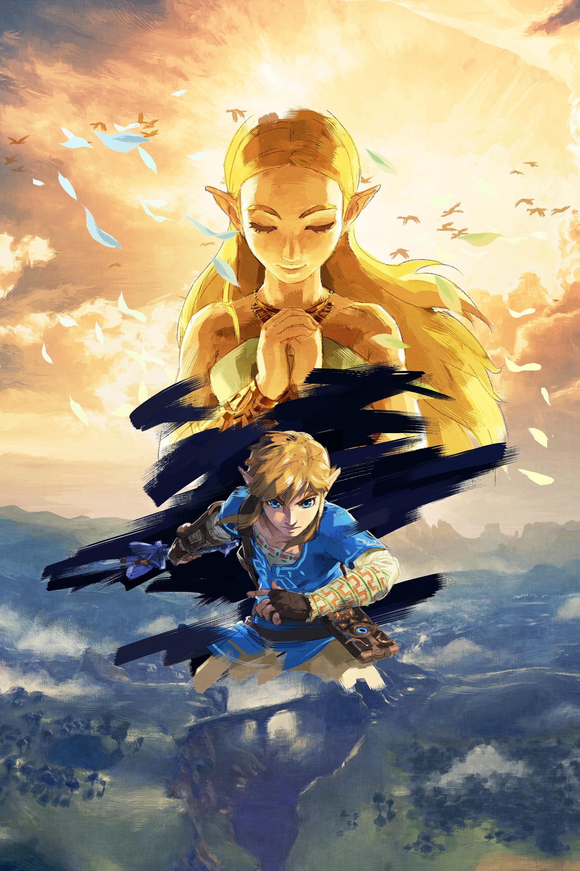 Zelda Botw Iphone Hd Wallpapers Wallpaper Cave