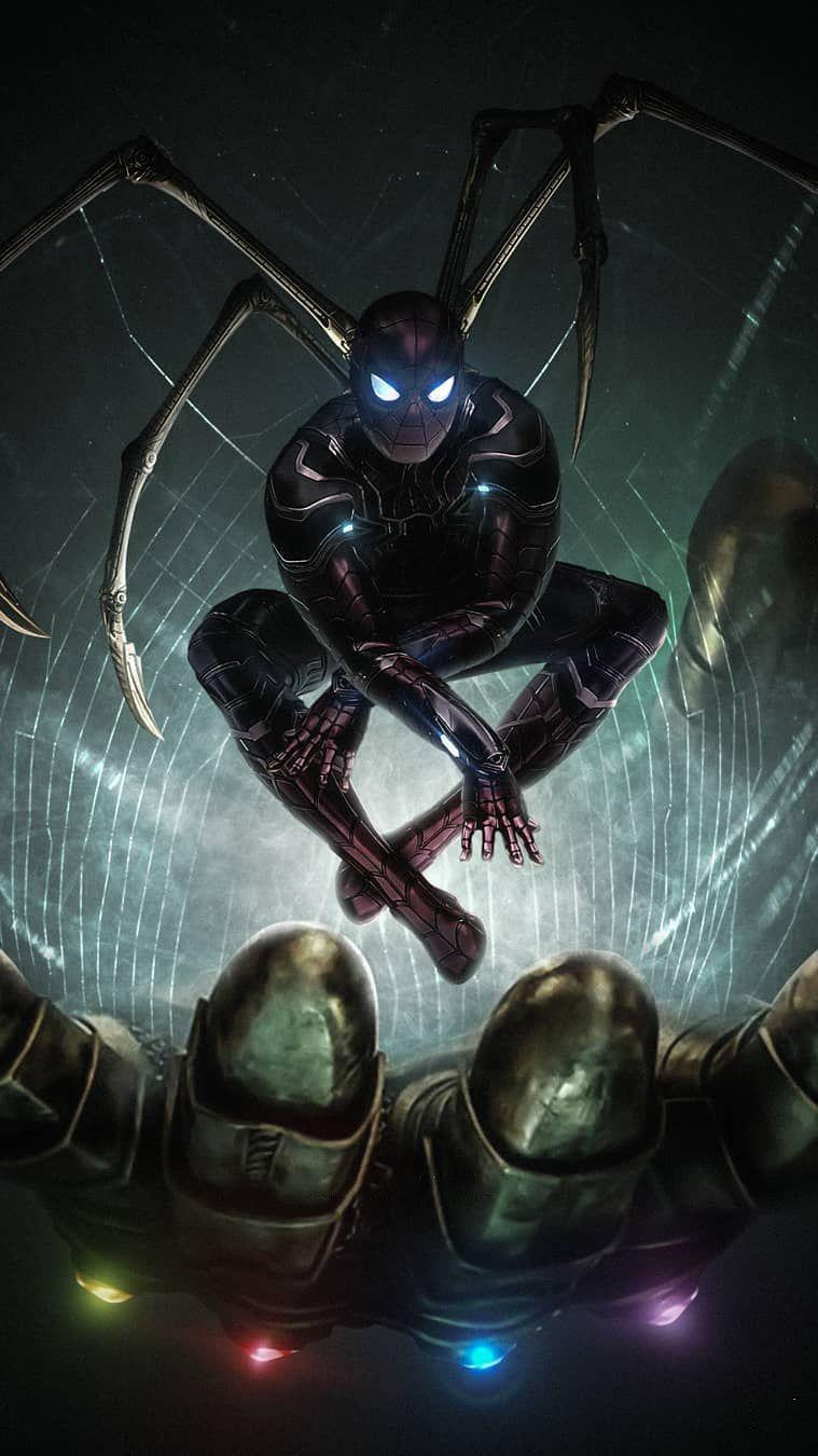 Download Avengers Endgame Wallpaper Spiderman