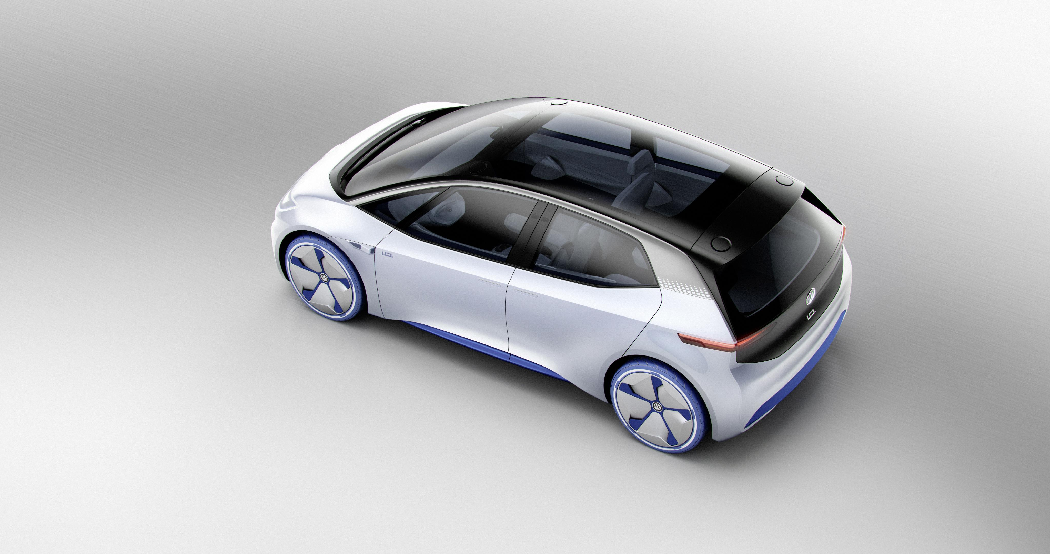 Paris Motor Show: Volkswagen Releases More Pictures of ID Electric