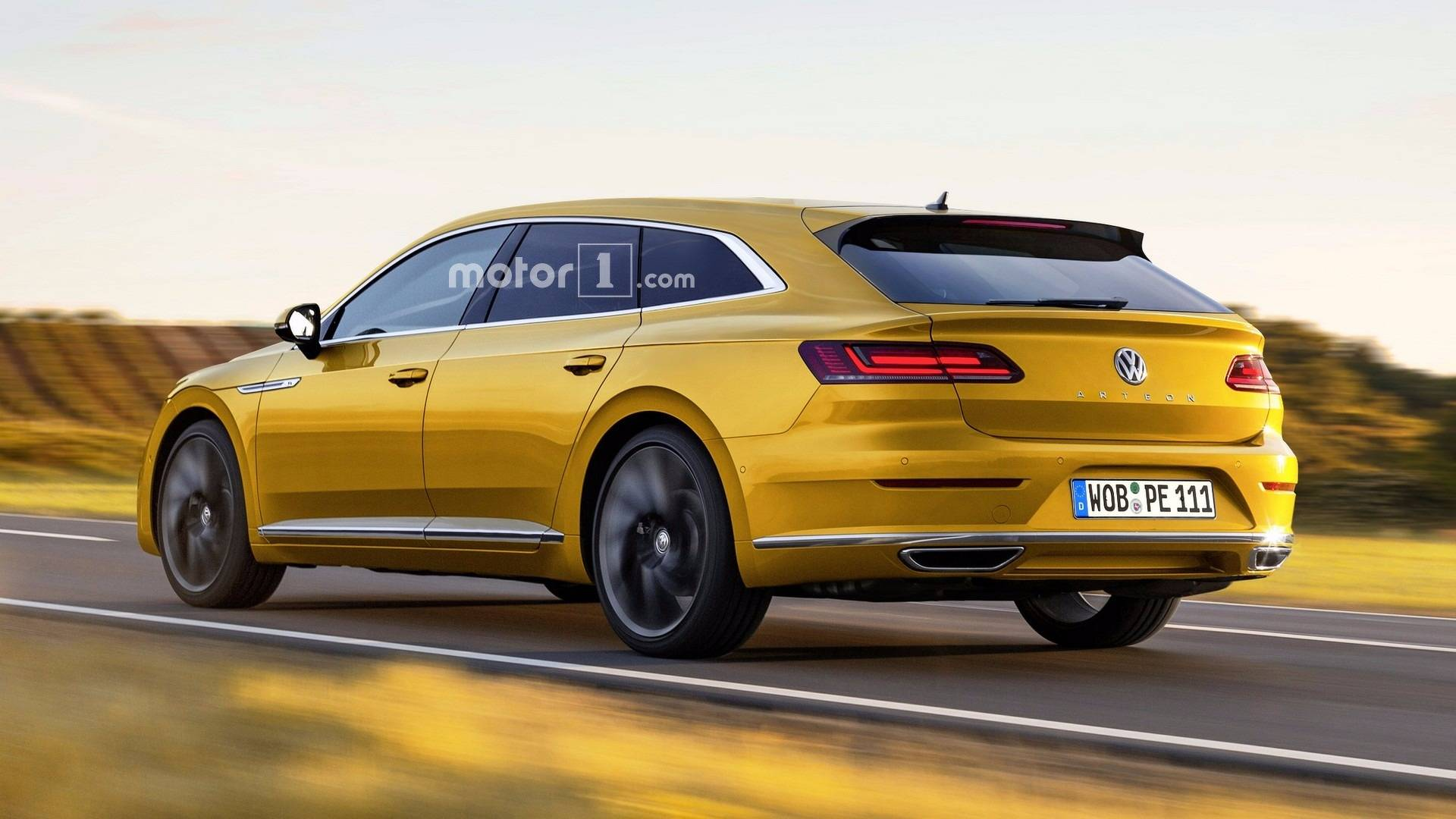 VW Arteon Shooting Brake Given The Green Light; Could Get V6