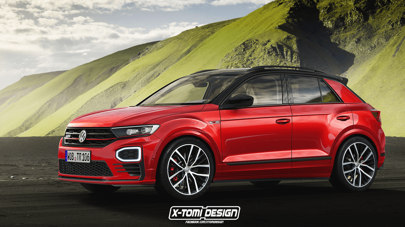 Volkswagen T-Roc GTI Rendering Gets the 200+ HP Crossover Just Right ...