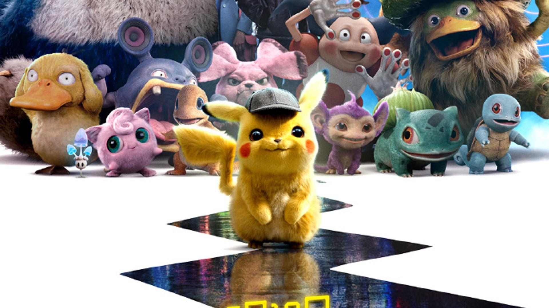 Pokémon Detective Pikachu Hd Wallpapers Wallpaper Cave