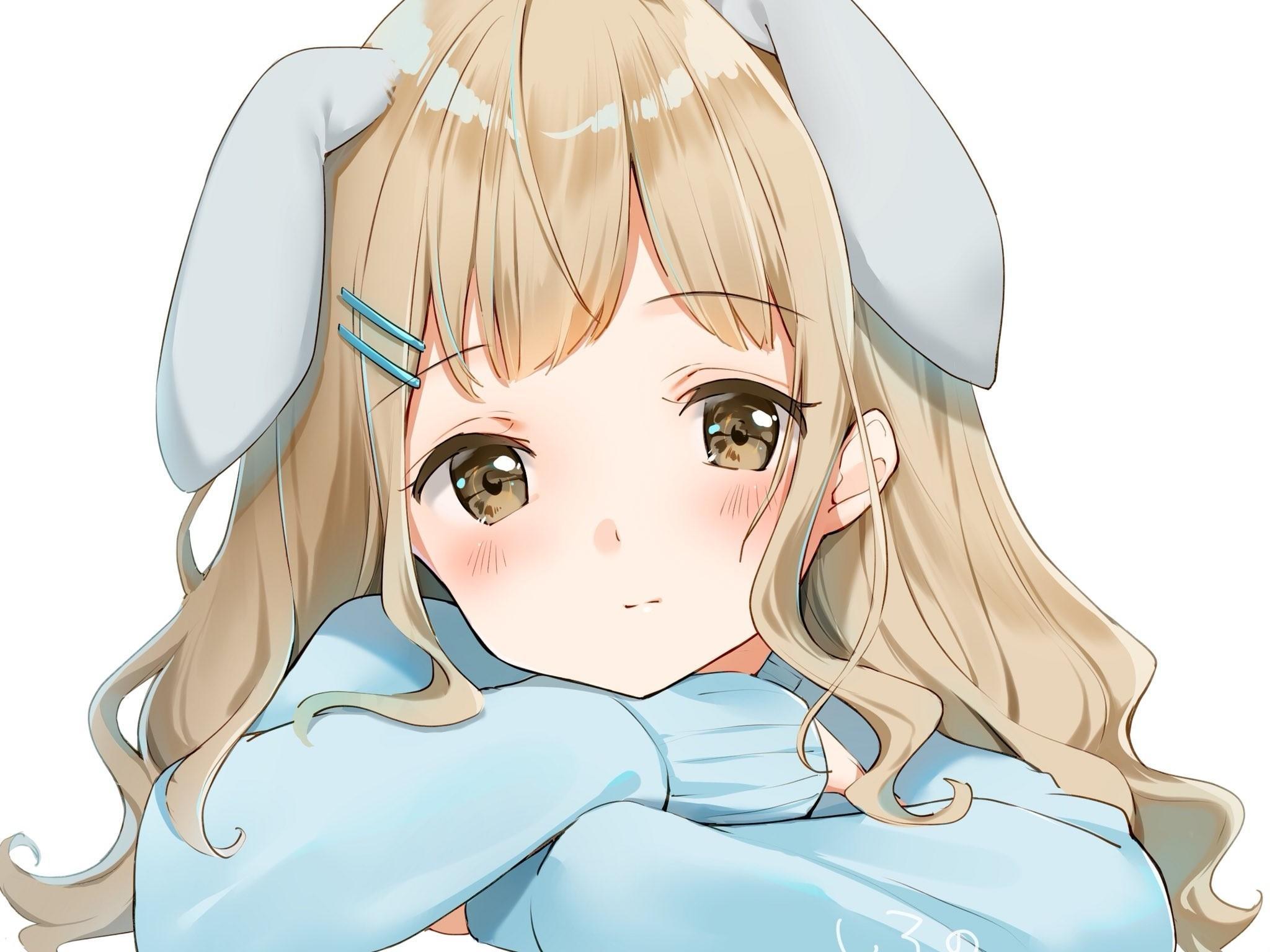 Long Hair Anime Girl Wallpapers - Wallpaper Cave