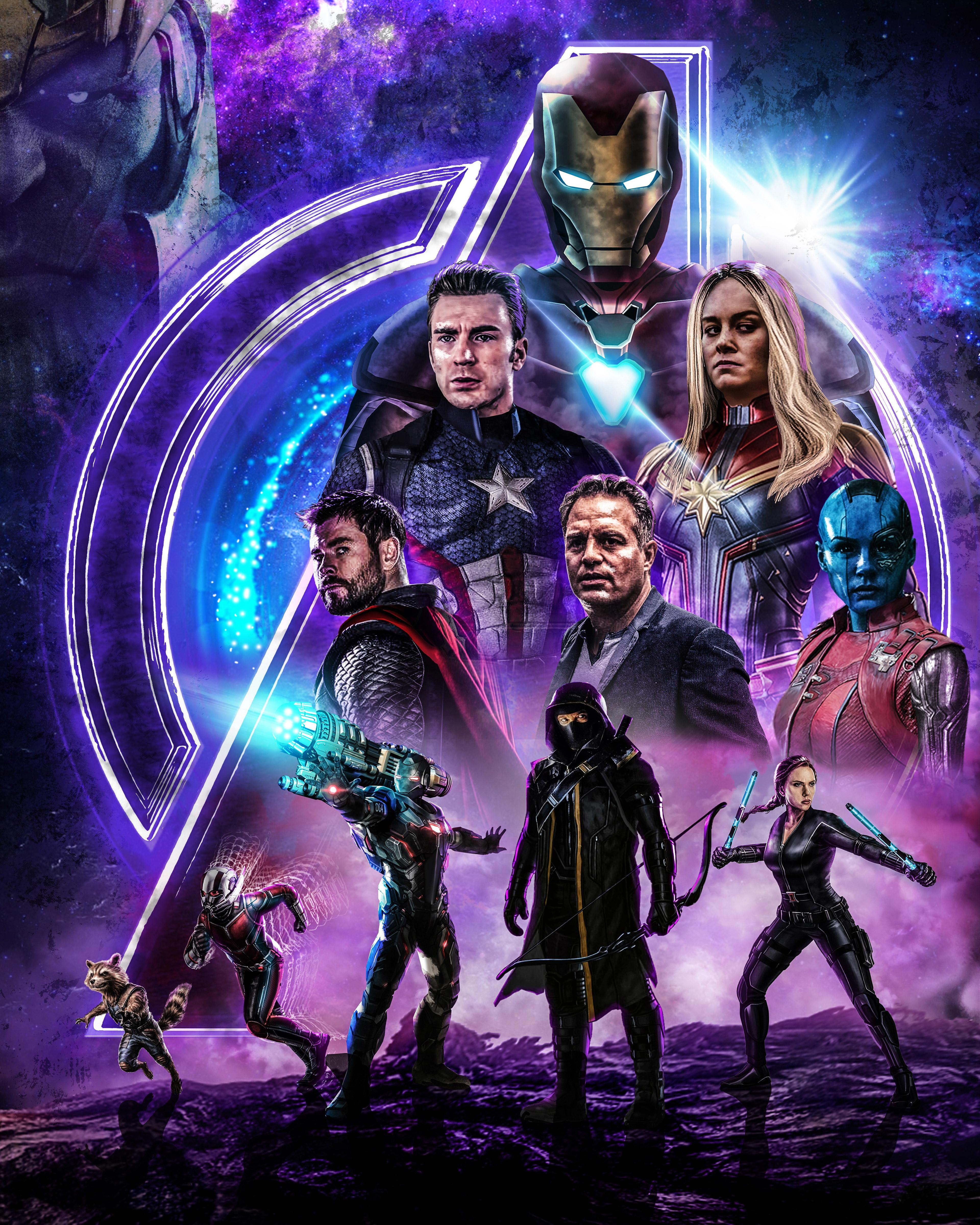 Avengers Endgame Ultra HD Android Wallpapers - Wallpaper Cave