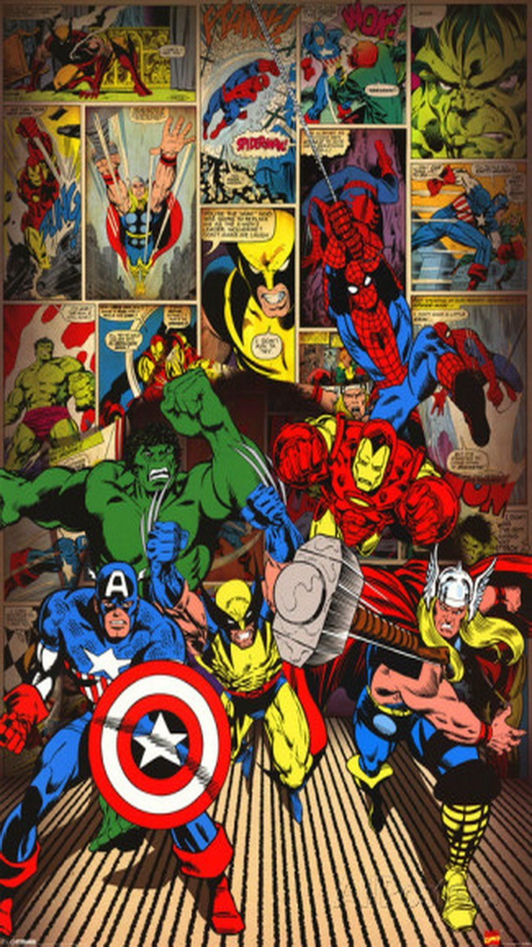 Marvel Iphone Wallpapers Wallpaper Cave