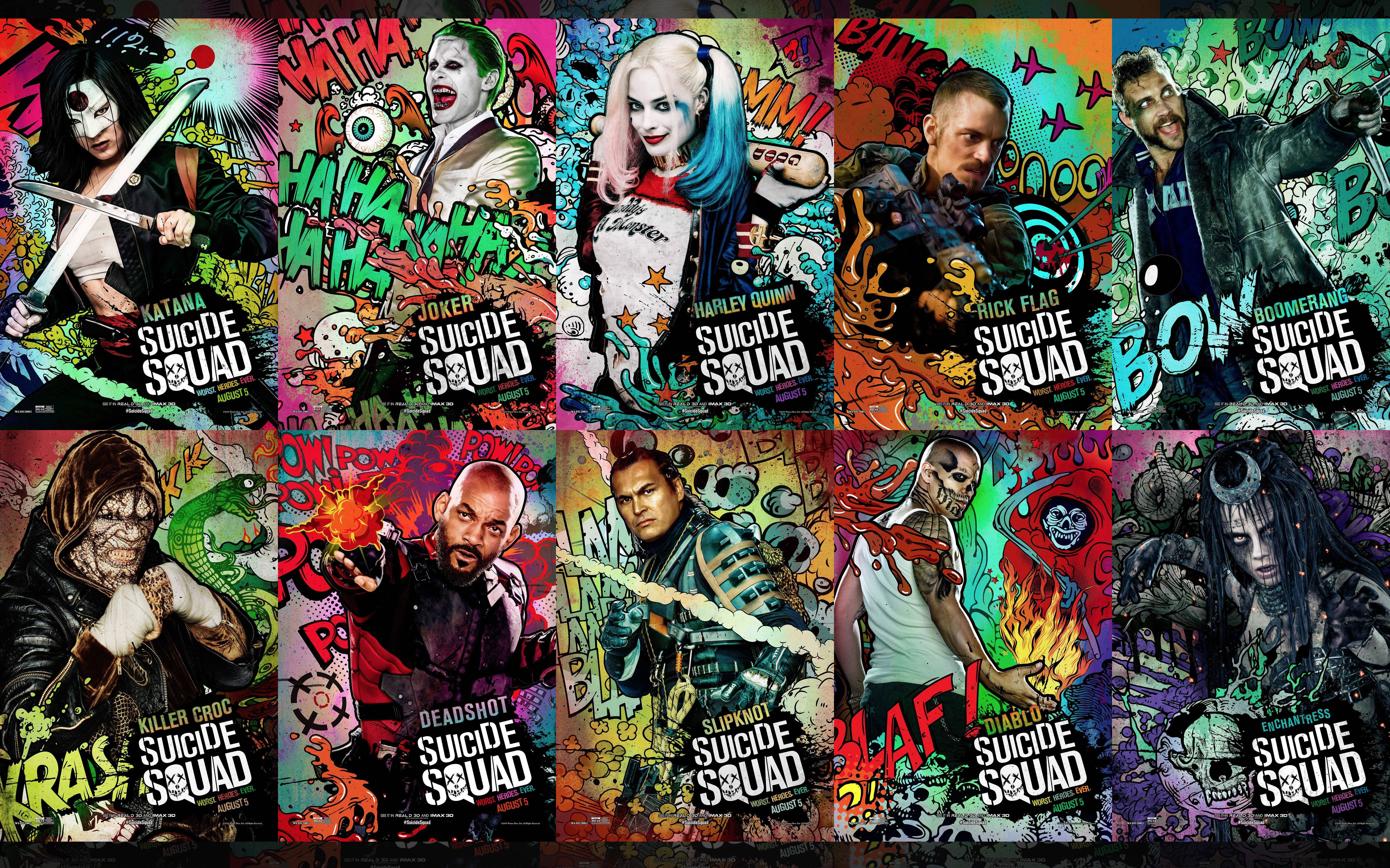 Suicide Squad 2 Wallpapers - Wallpaper Cave