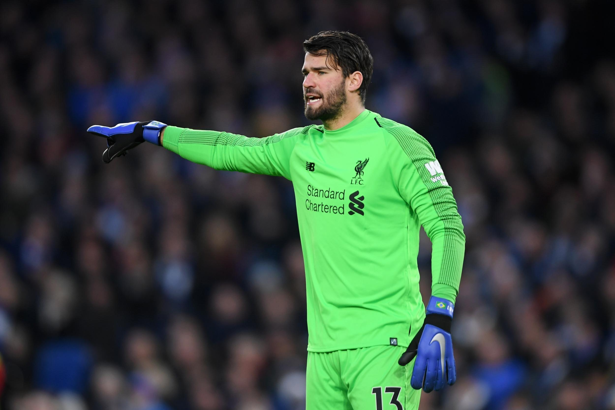 Alisson Becker Liverpool Wallpapers